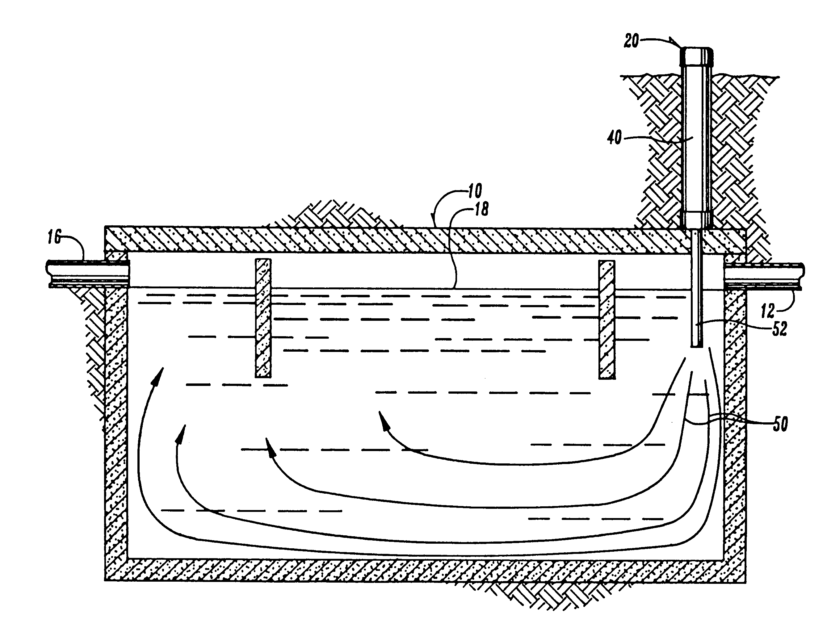 Patent Us6245237 Method For Vacuum Aeration Of Septic