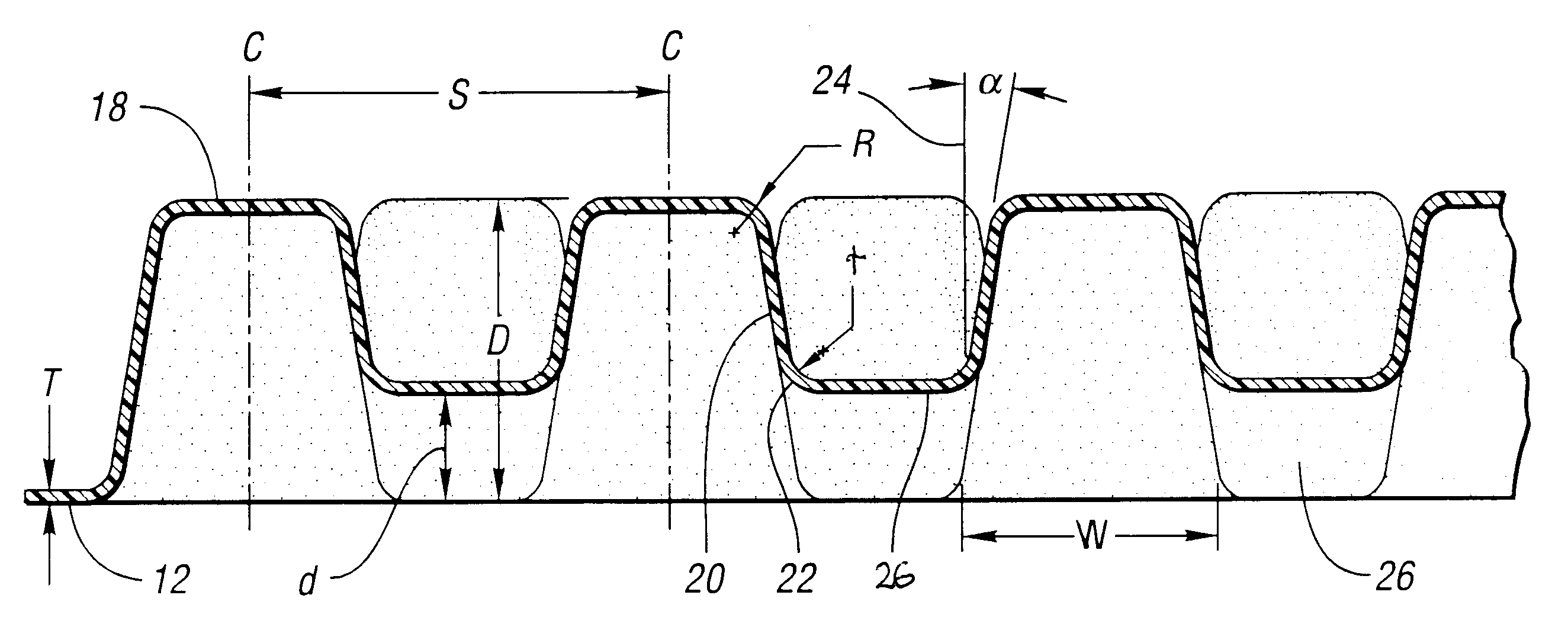 Patent US6247745 - Formed energy absorber - Google Patents