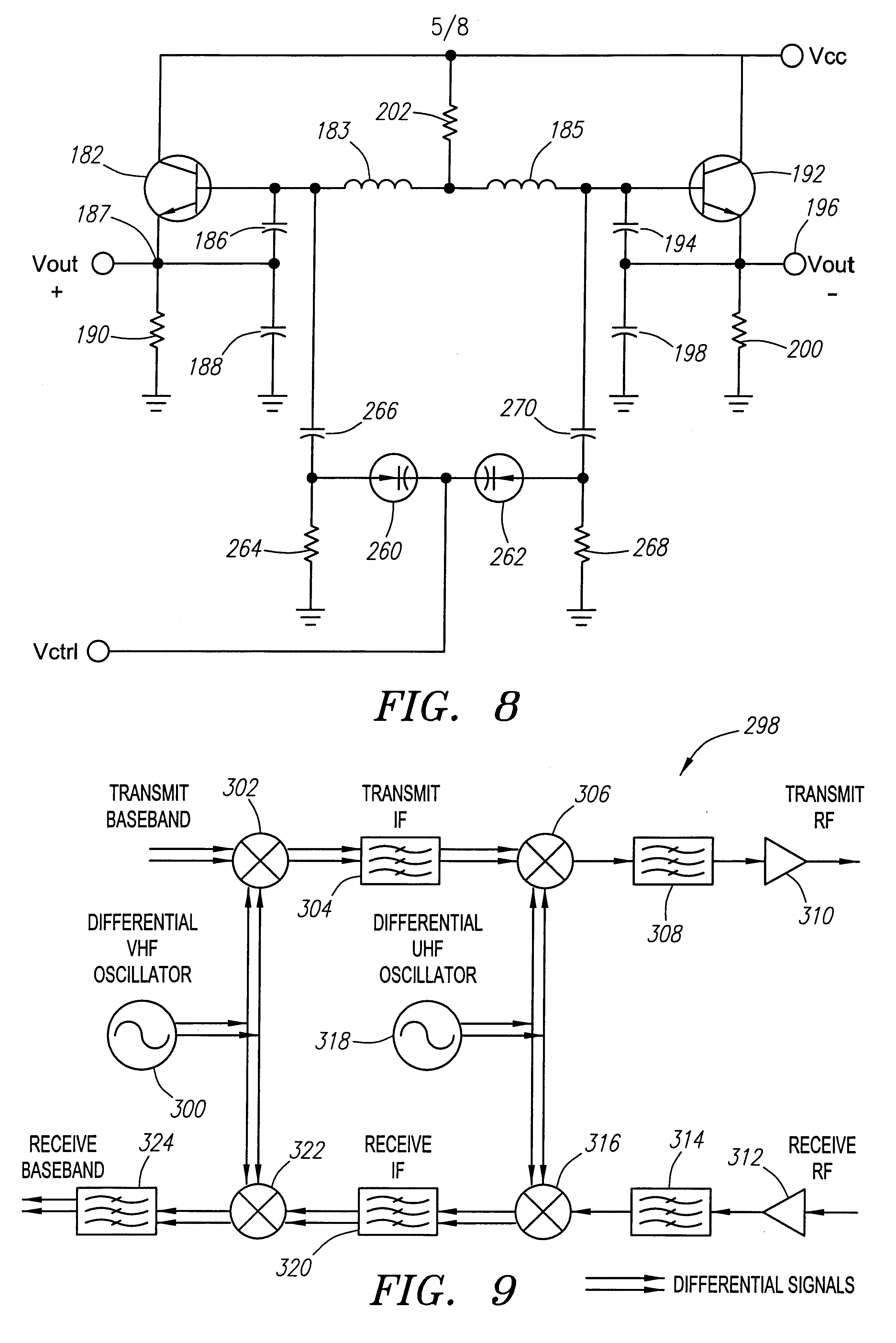 Patent Us6249190 Differential Oscillator Google Patents The Colpitts Utilizes A Tank Circuit Lc In Feedback Drawing