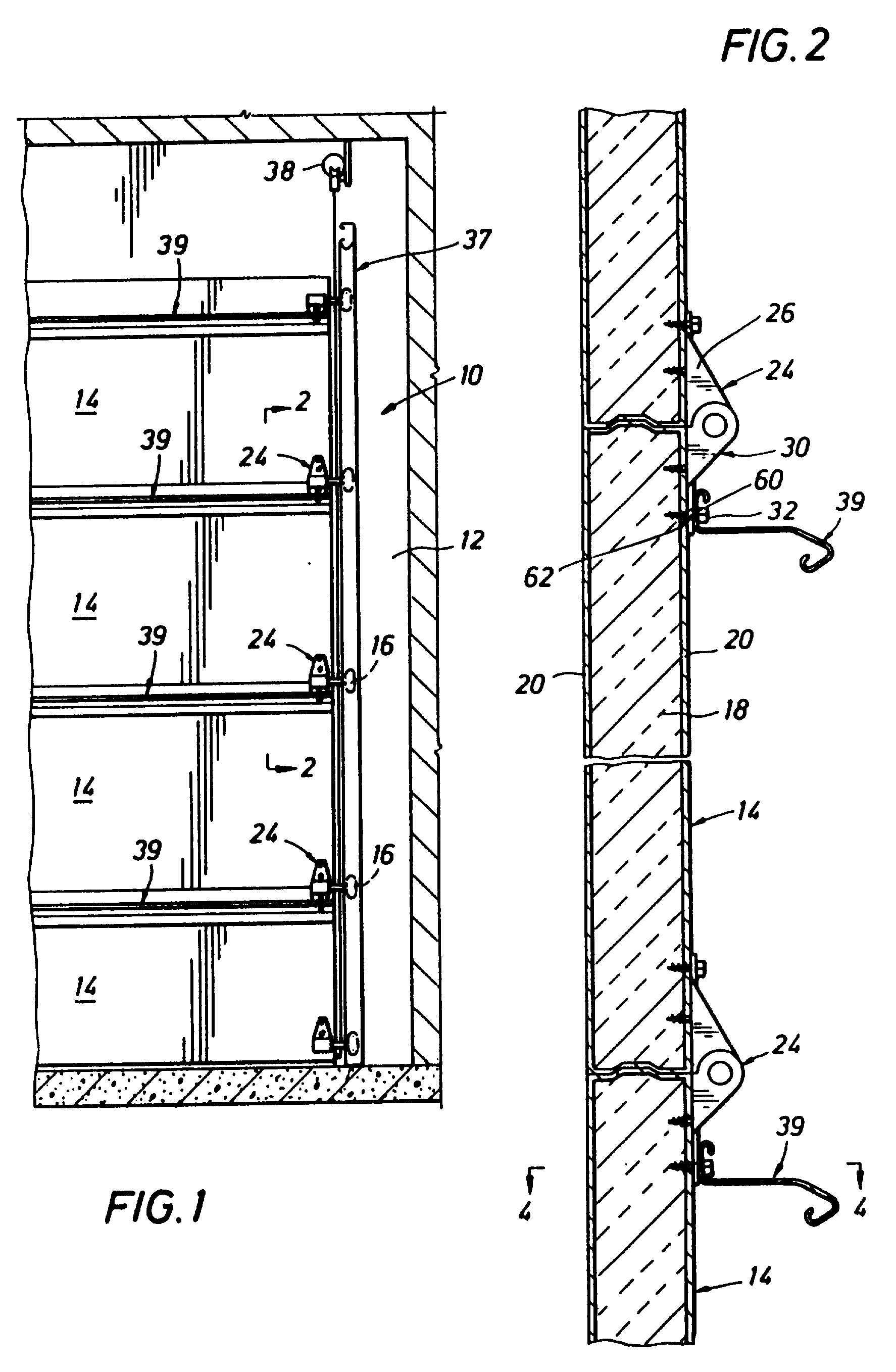 Patent Us6250361 Stiffeners For Sectional Overhead Doors