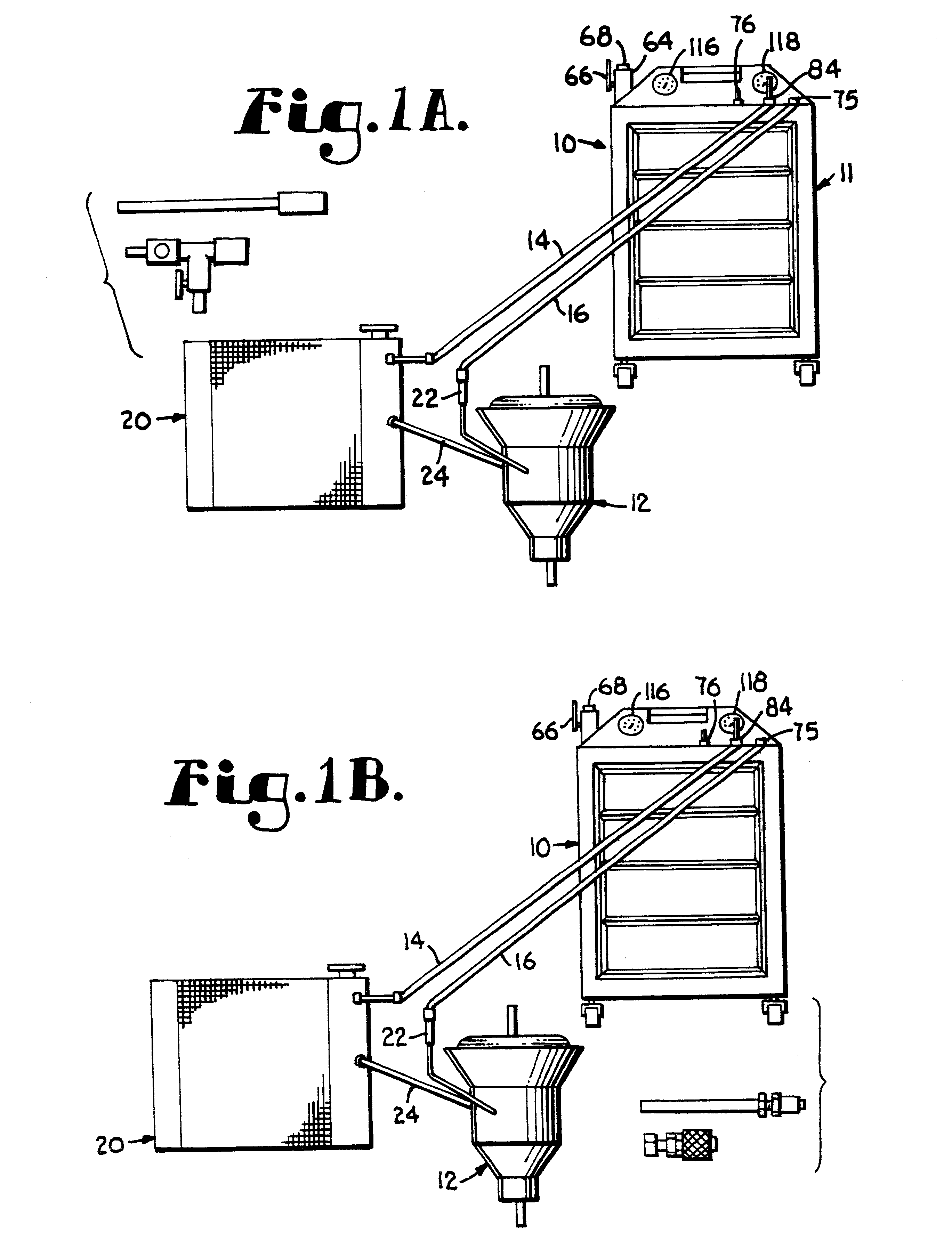 patent us6253805 apparatus and improved method for changing BM Trans Cooler patent drawing