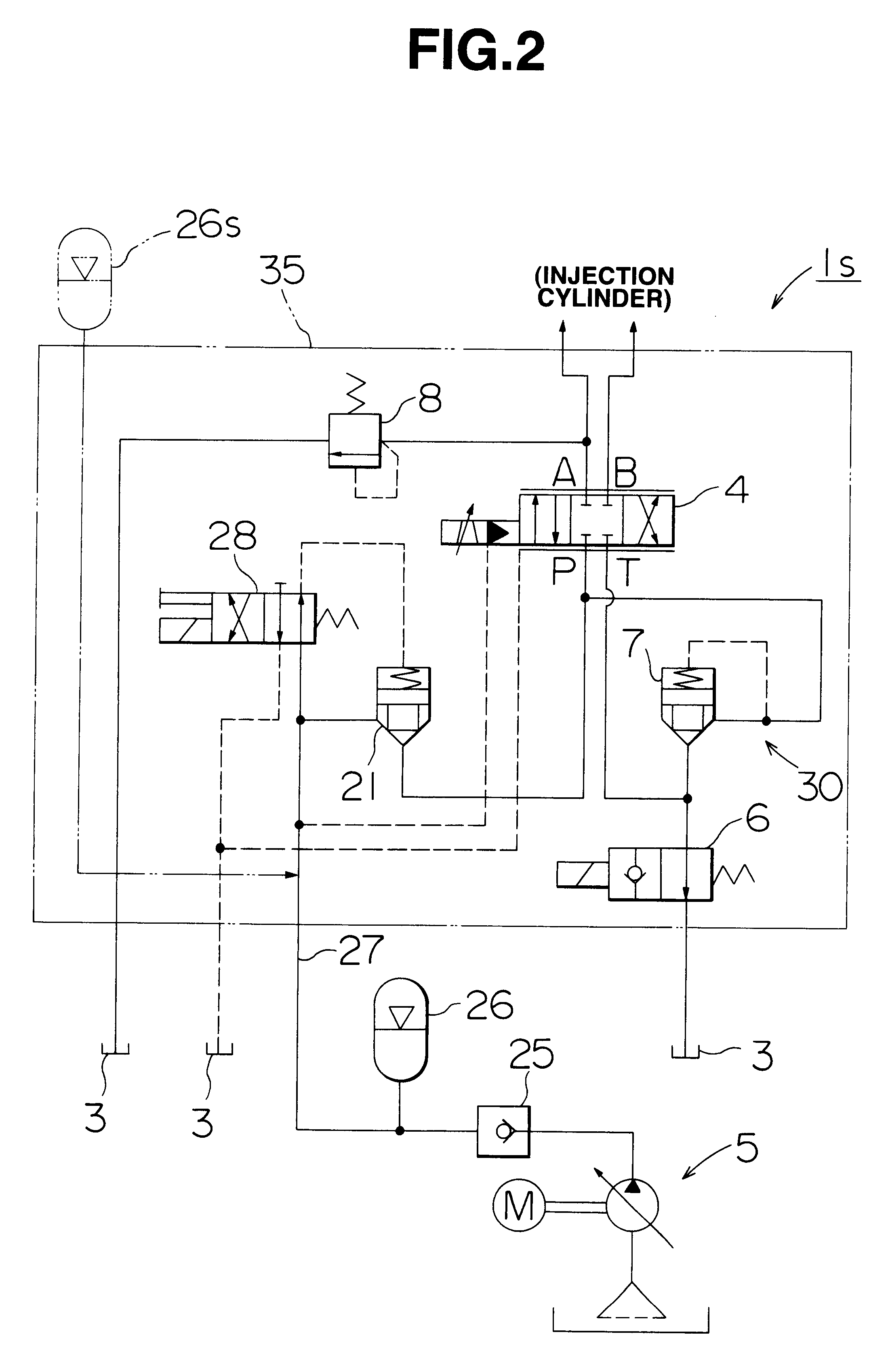 US06257859 20010710 D00002 hydraulic circuit diagram for injection moulding machine circuit injection molding machine wiring diagram at gsmportal.co