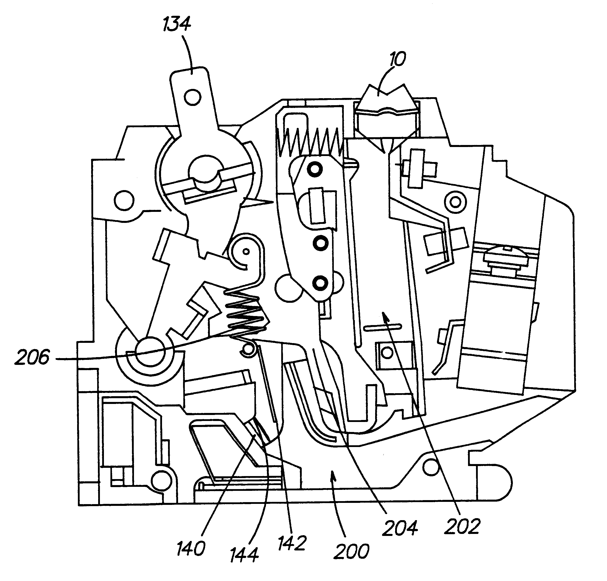 Patent Us6259340 Circuit Breaker With A Dual Test Button