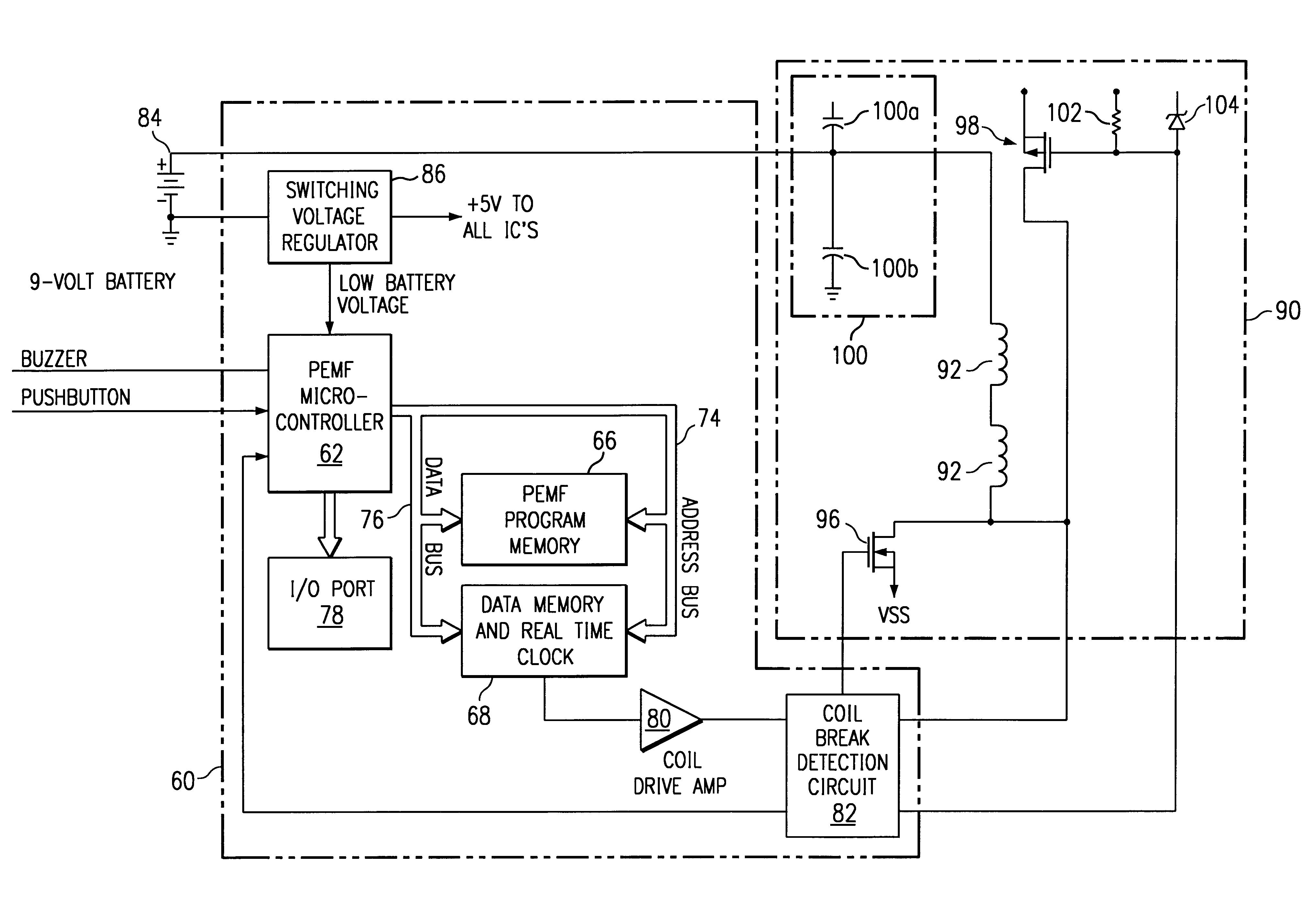 Electromagnetic Circuit Diagram