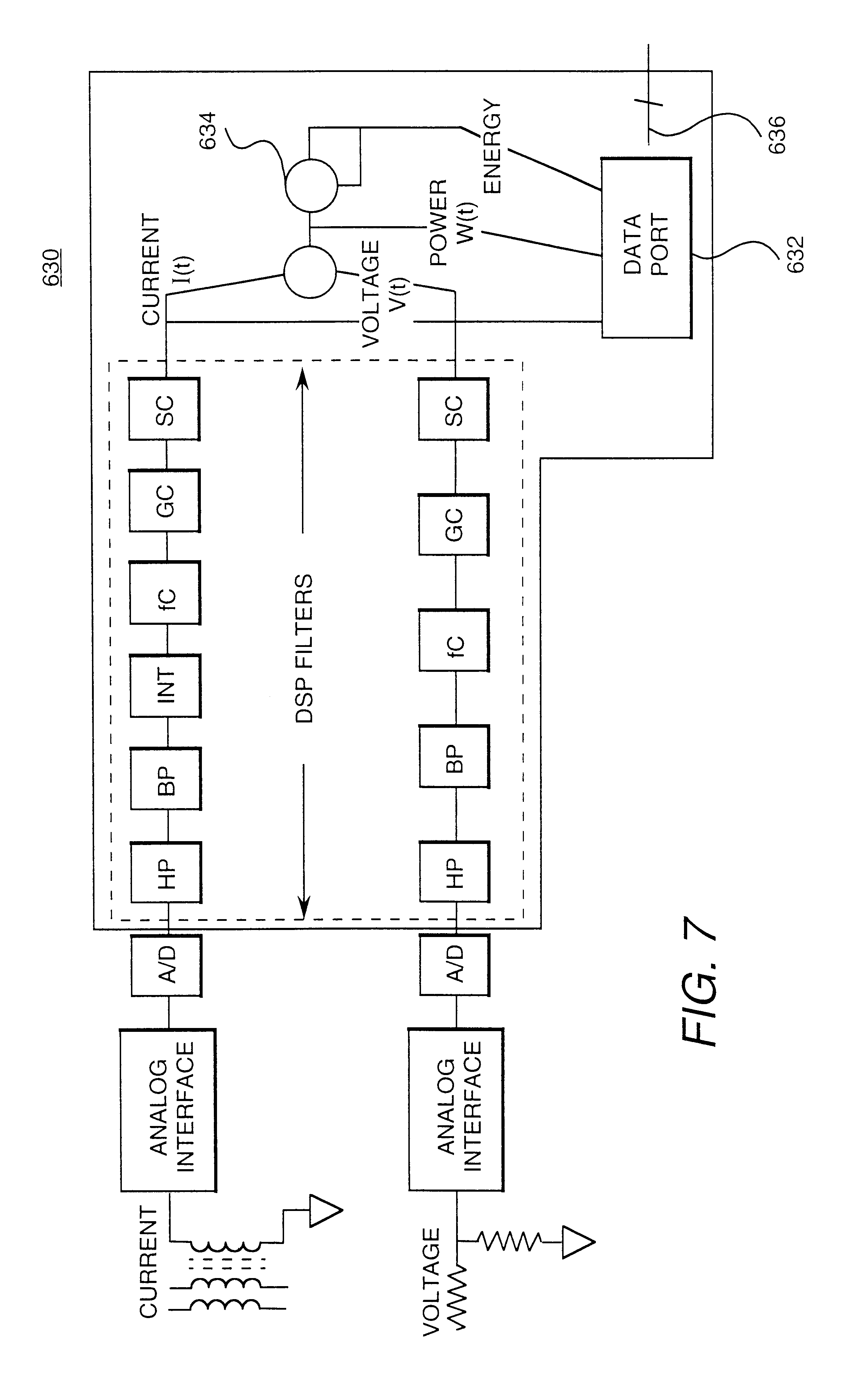 Patent Us6262672 Reduced Cost Automatic Meter Reading System And Hunter Dsp Wiring Diagram Drawing
