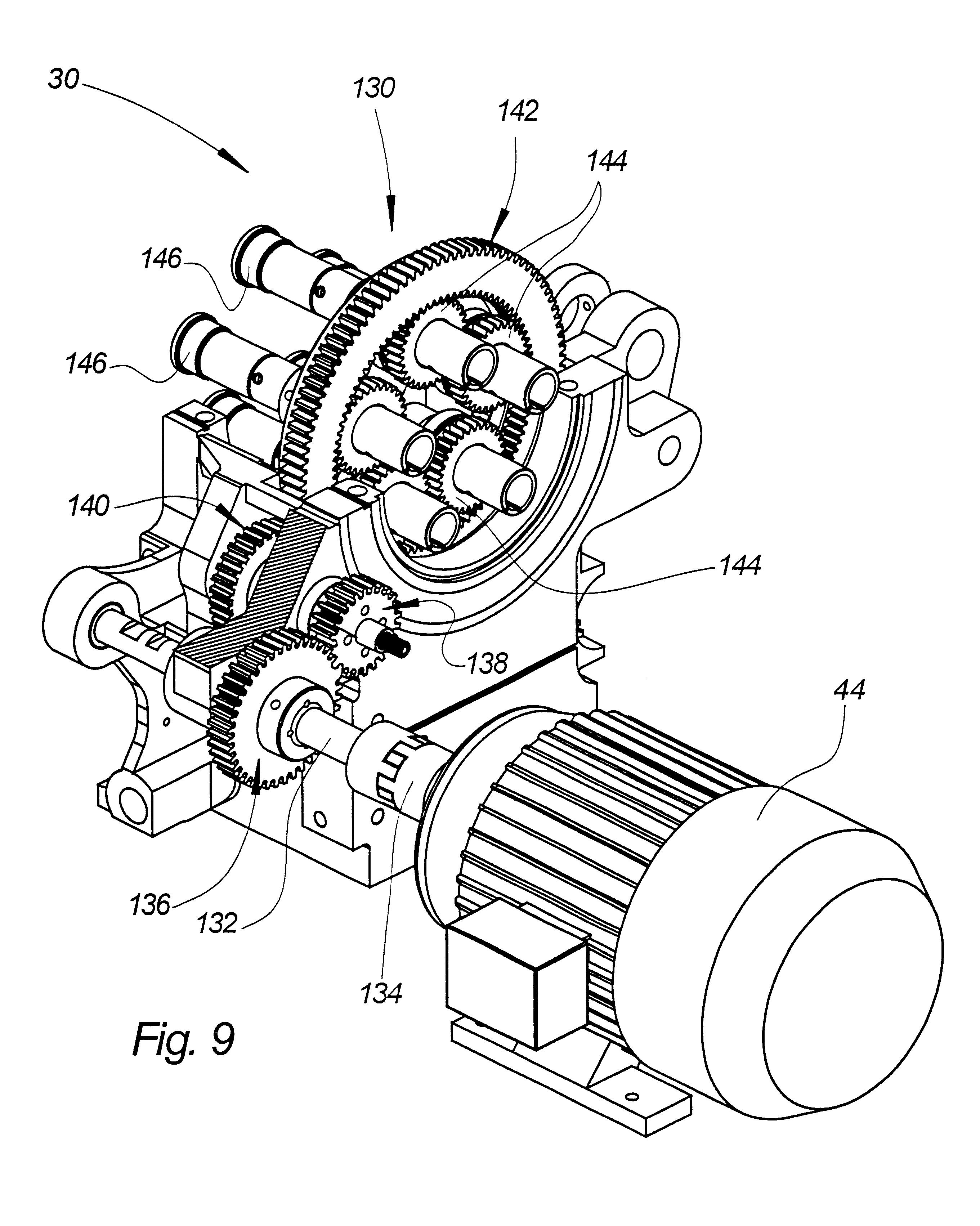 patent us6263553 machine tool with servo drive mechanism RC Linear Servo Motor patent drawing