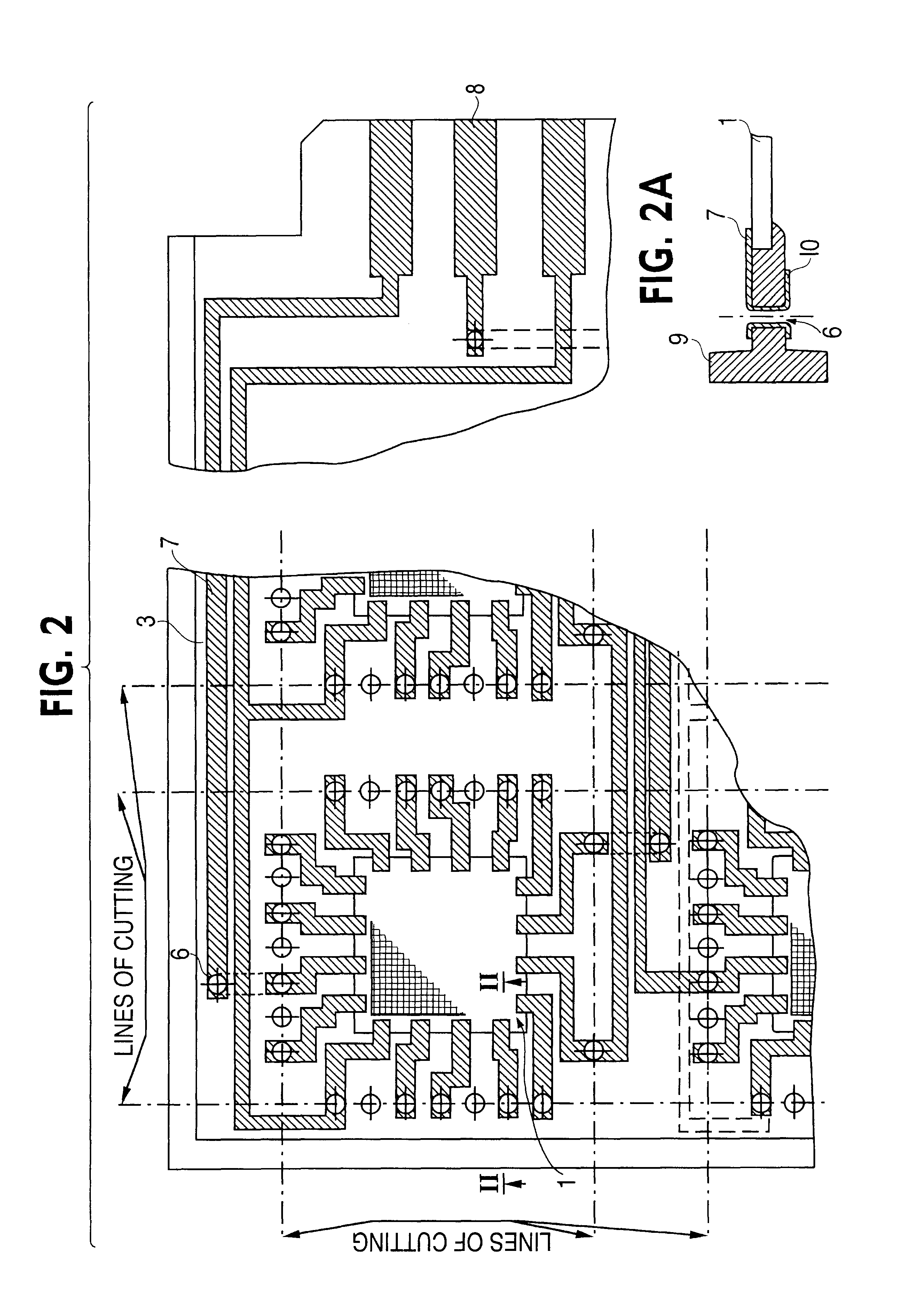 patent us6263563 - method of manufacturing and checking electronic components