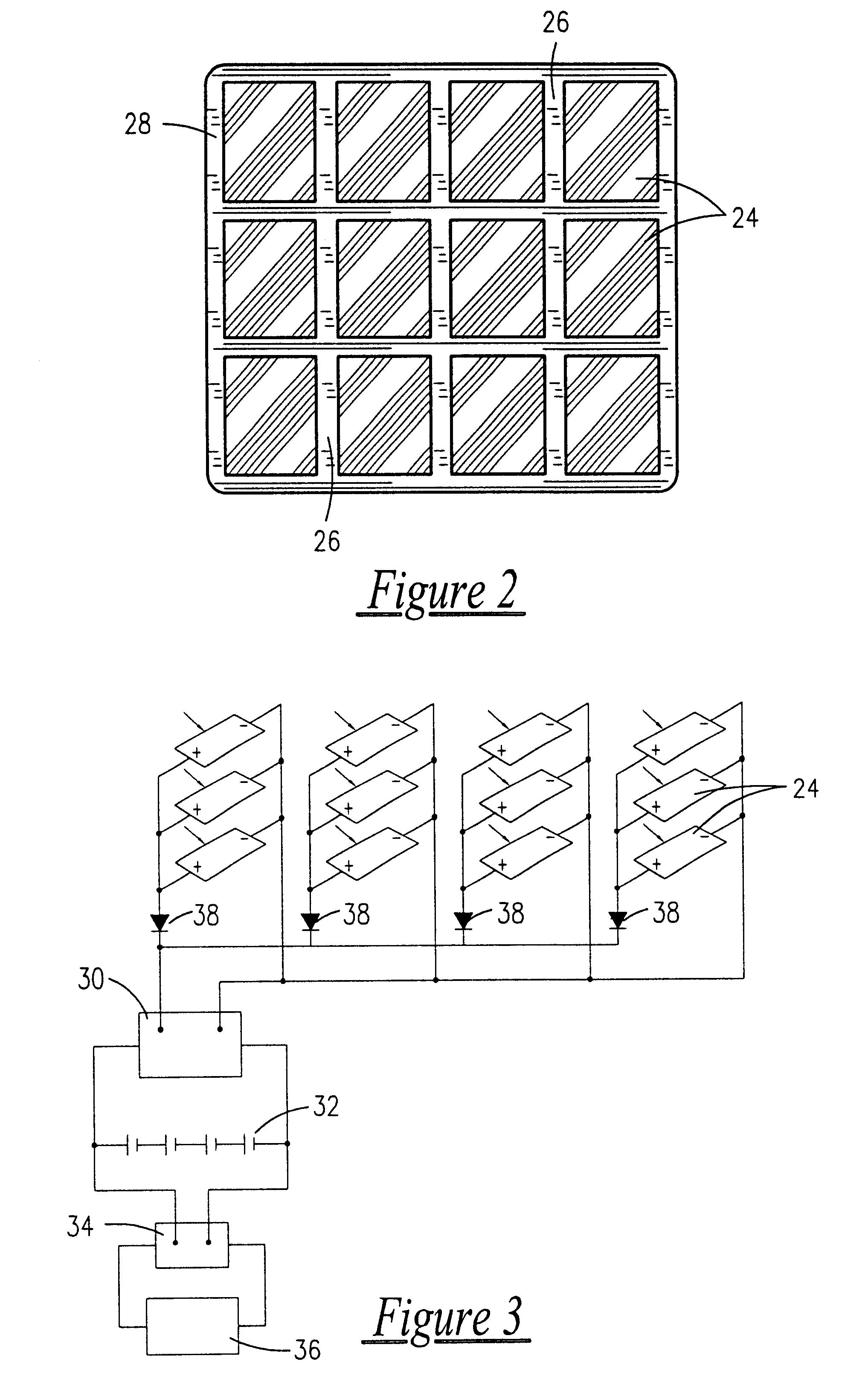 Patent Us6263674 Solar Powered Mobile Vending Apparatus