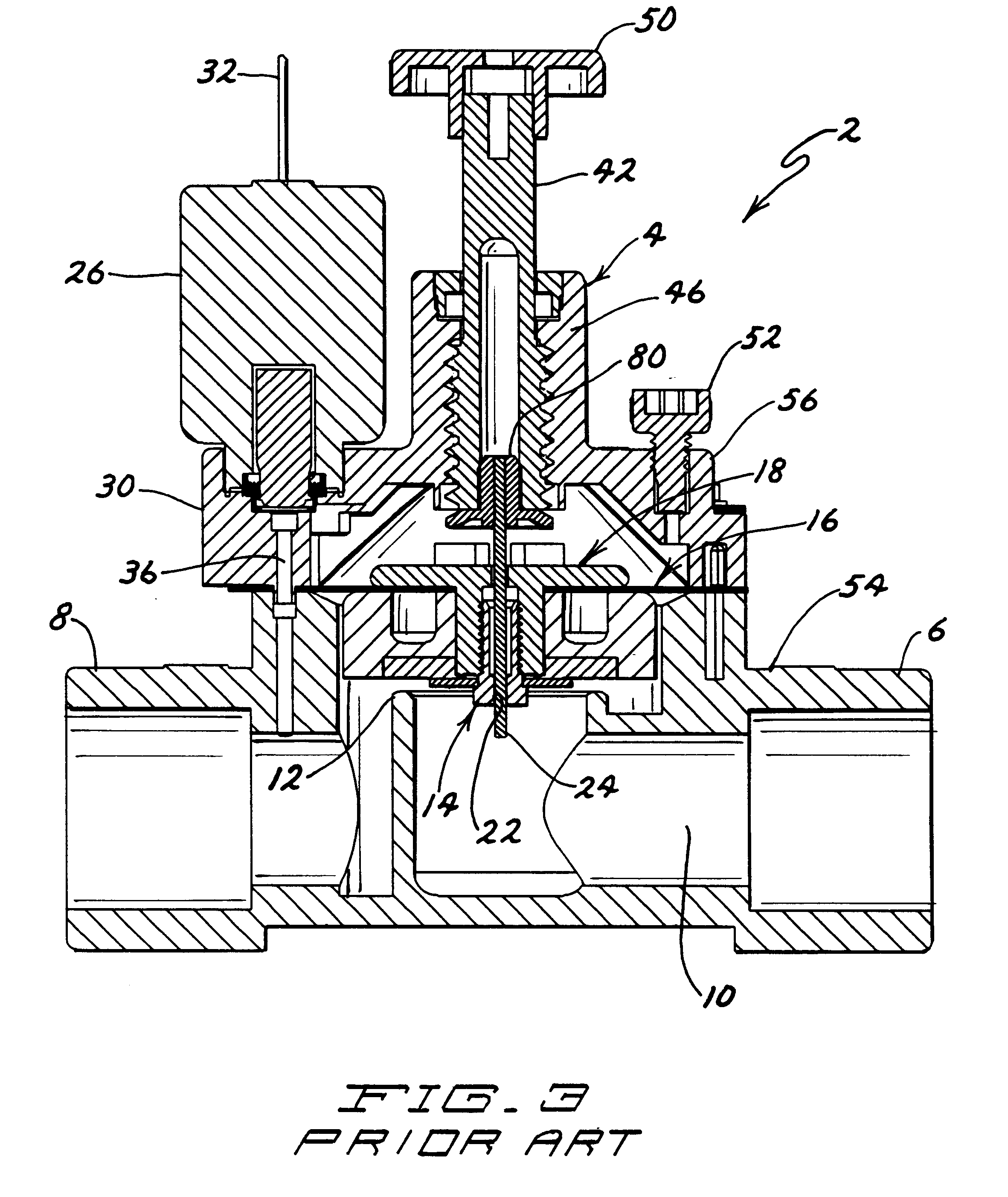 Patent Us6263901 Self Cleaning Irrigation Valve With
