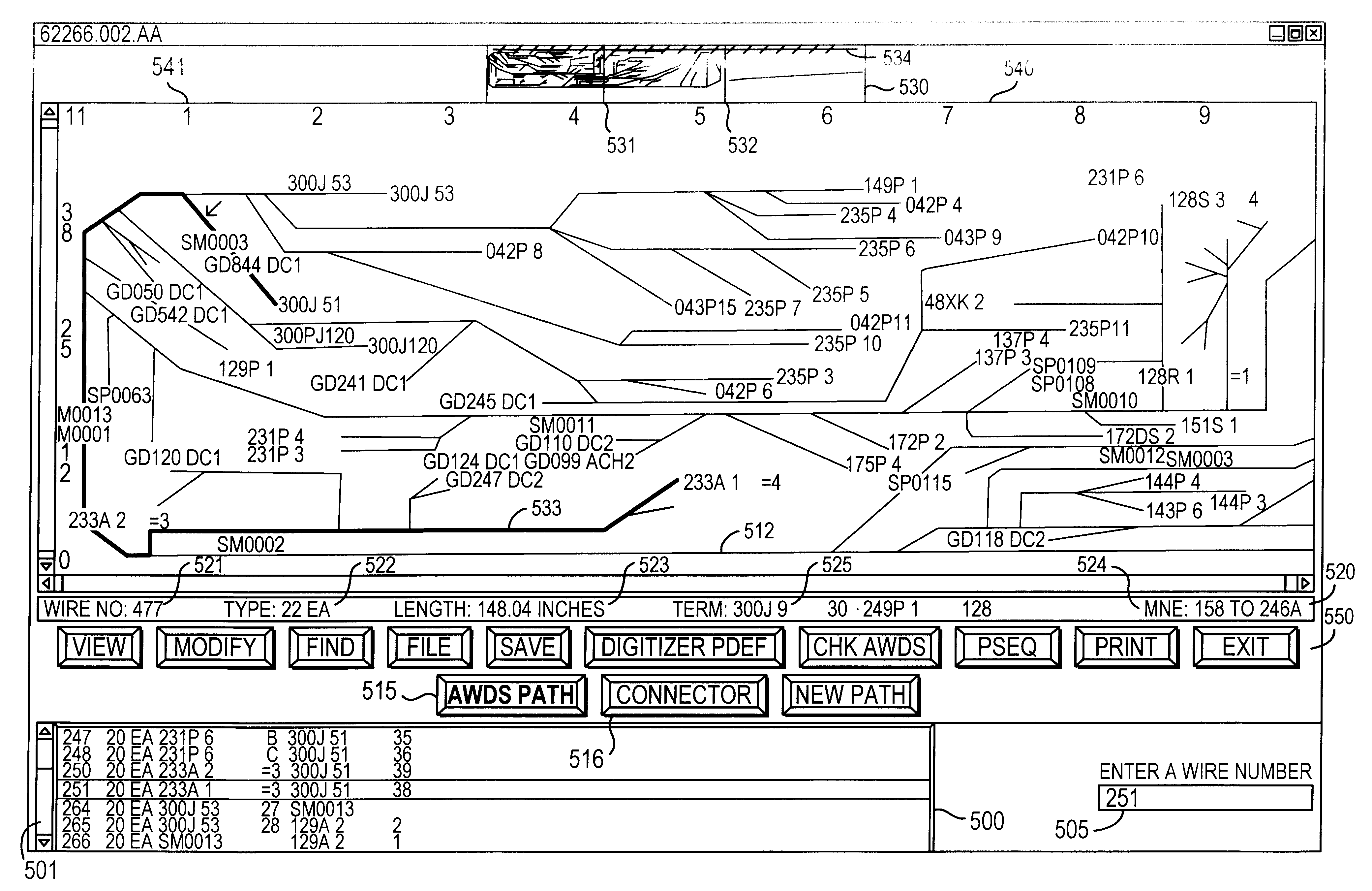 patent us wire harness system patents patent drawing