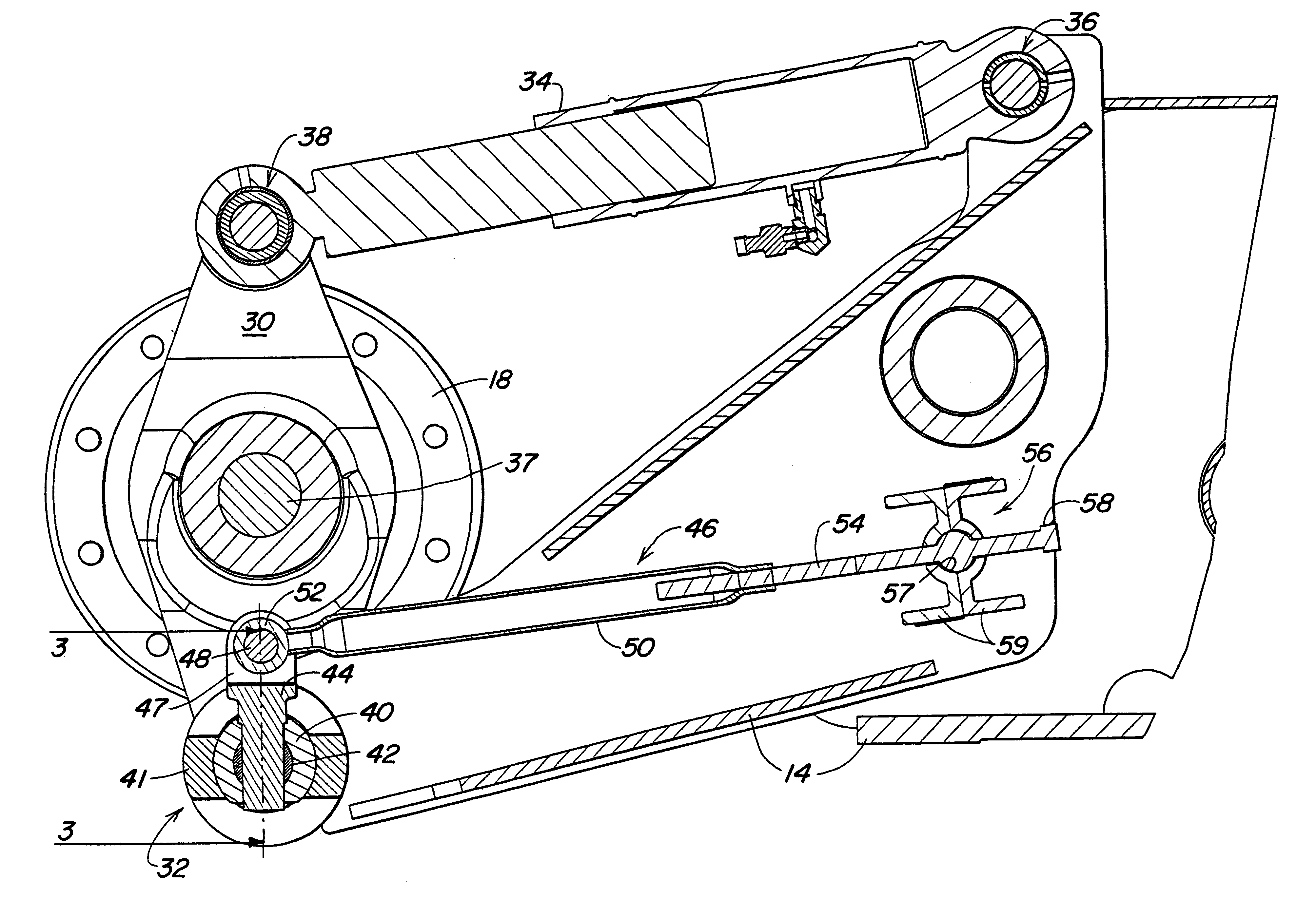 patent us6273530 toe in toe out adjustment mechanism patents Beam Straps patent drawing