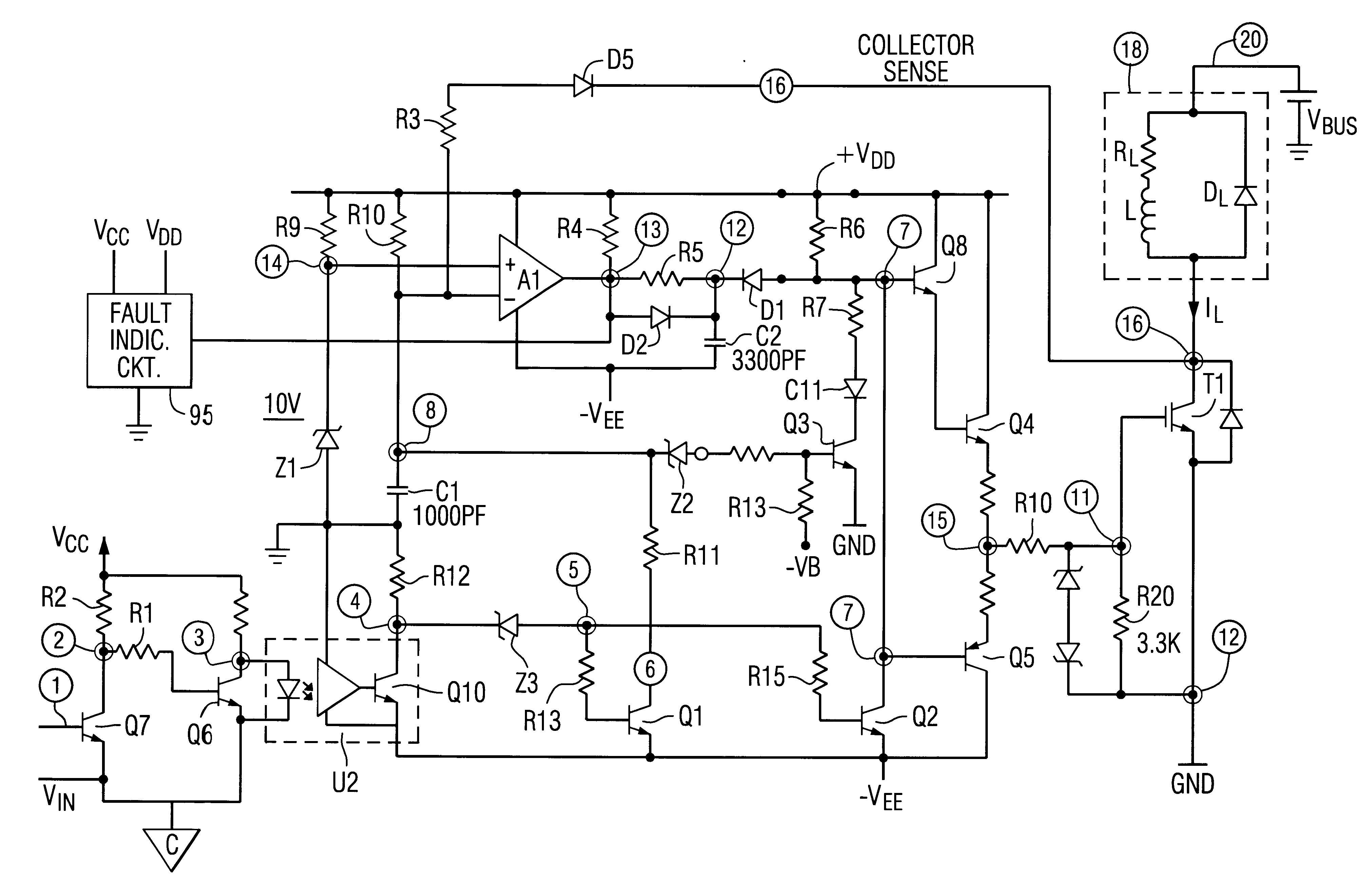 Patent US6275093 - IGBT gate drive circuit with short circuit
