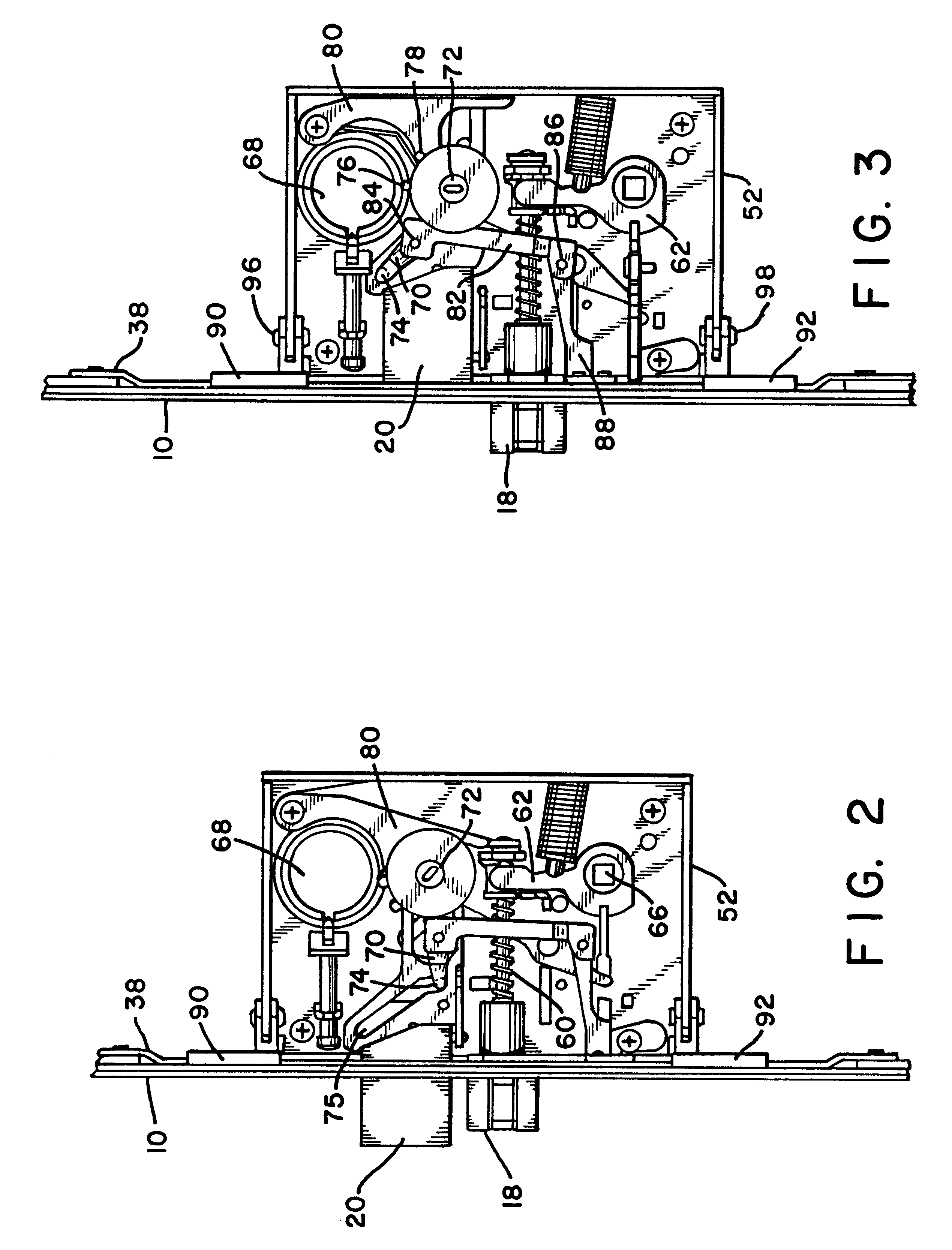 patent us6282929 - multipoint mortise lock