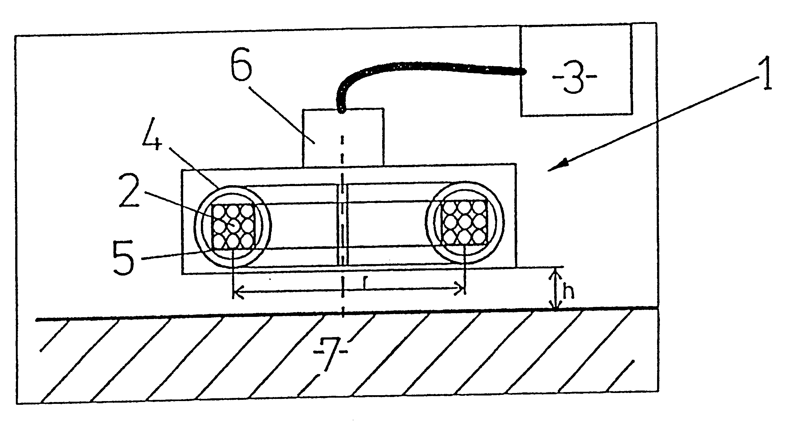 patent us6288536 - eddy current sensor