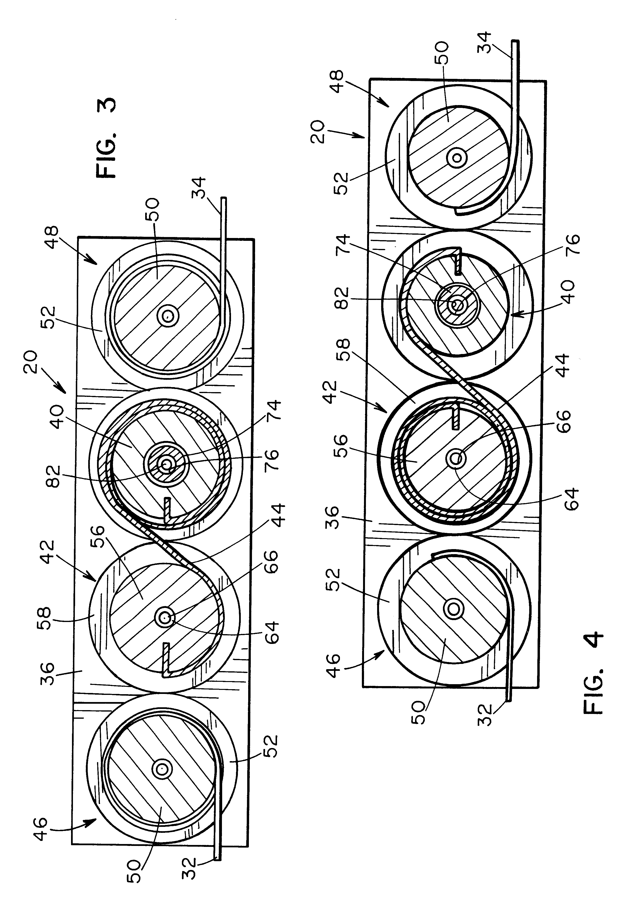 Patent Us6289965 Take Up Drum For A Cordless Shade