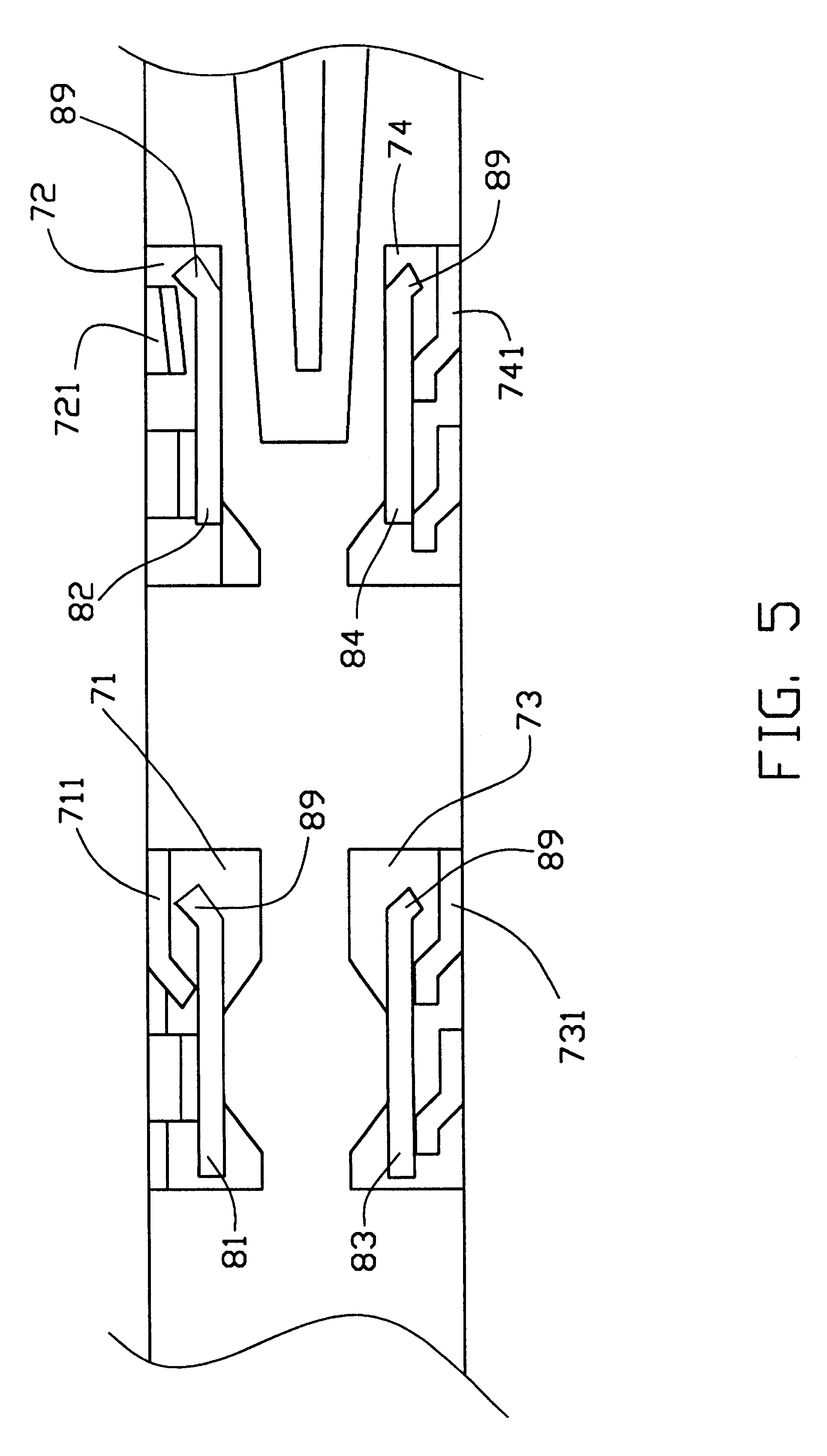 patent us6290136 - card ejection mechanism for pcmcia connector