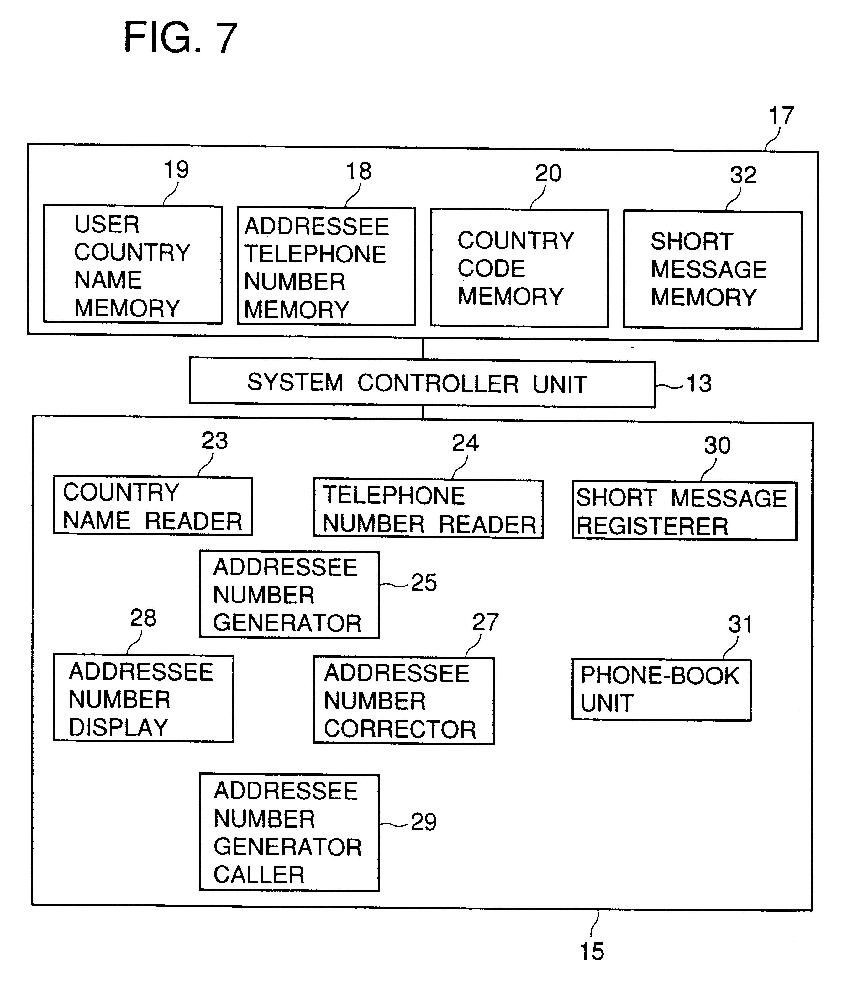 براءة الاختراع US6295458 - Device for automatically