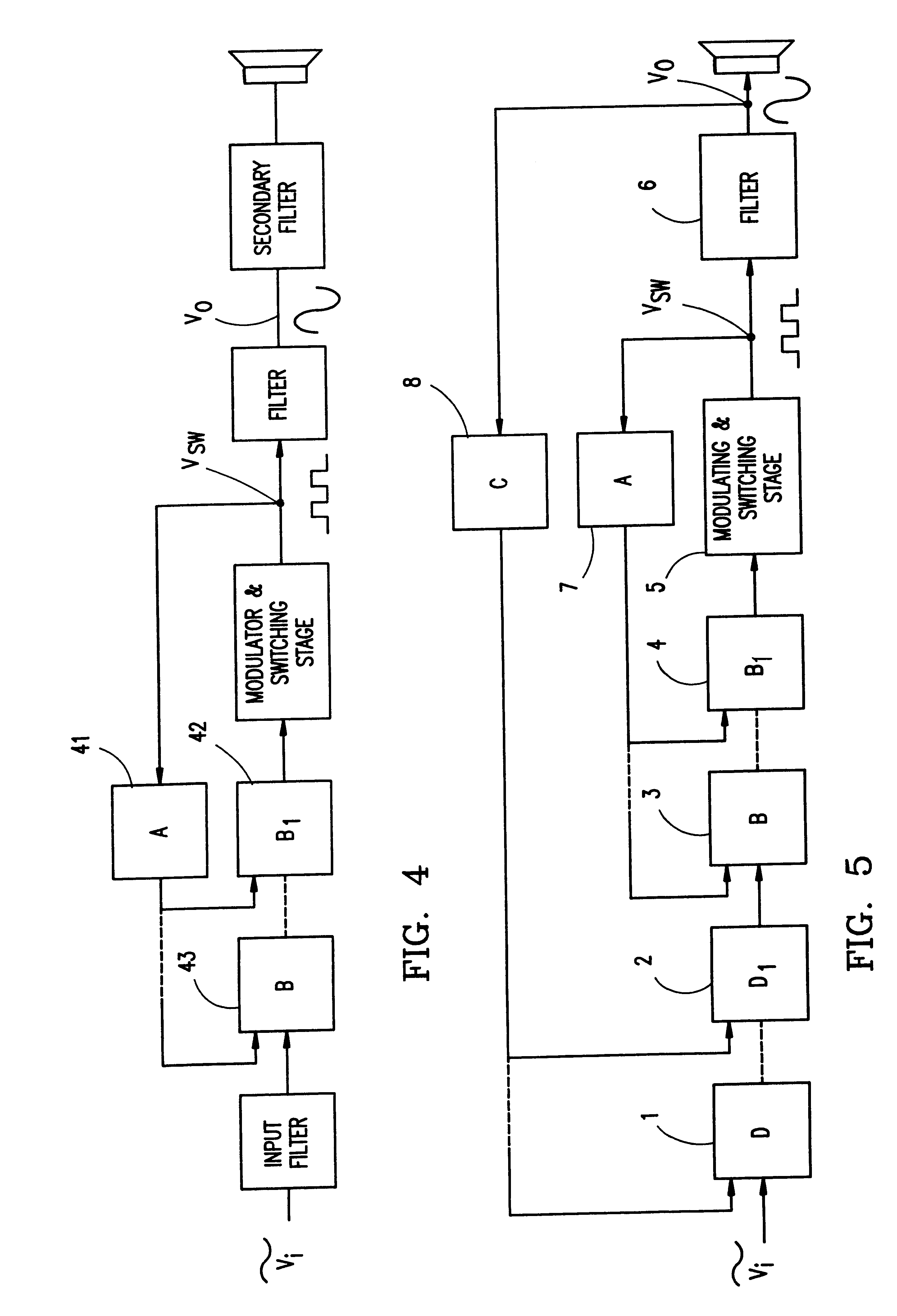 Patent Us6297692 Pulse Modulation Power Amplifier With Enhanced Frequency Hybrid Type Switching Supply Drawing