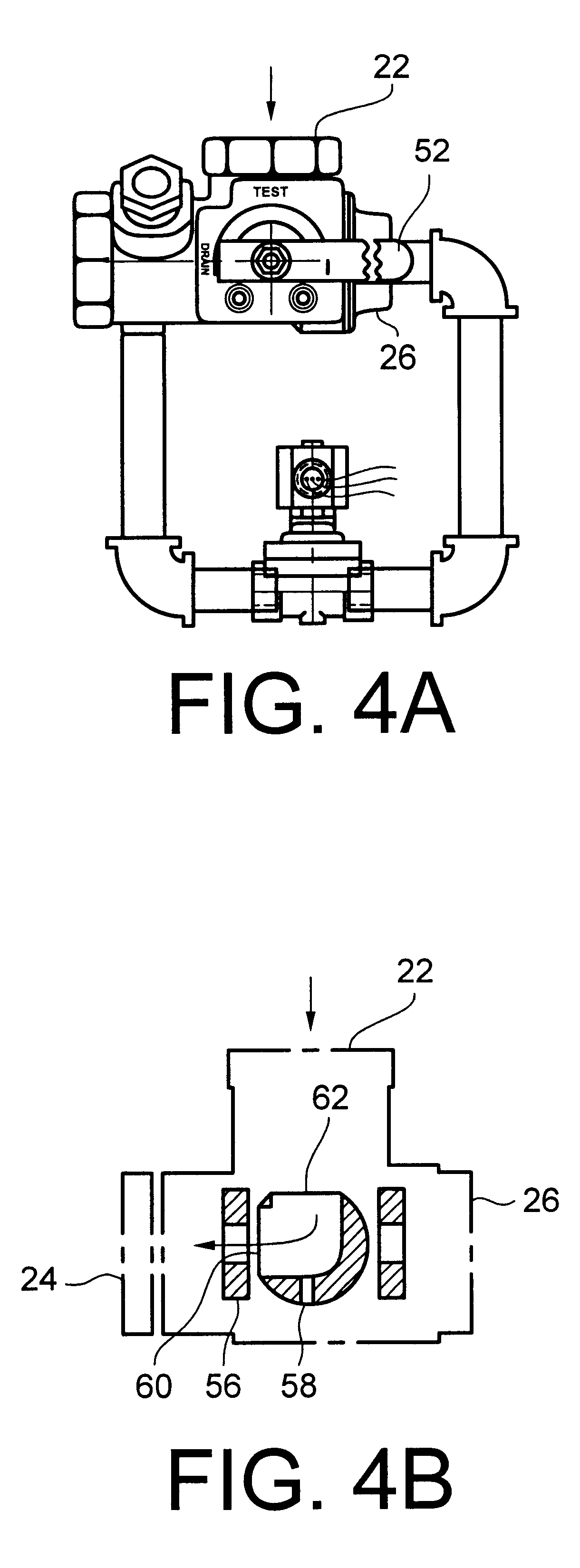 Patent Us6302146 Valve And Arrangement For Fire Suppression System Sprinkler Systems Wiring Diagram Likewise Solenoid Drawing