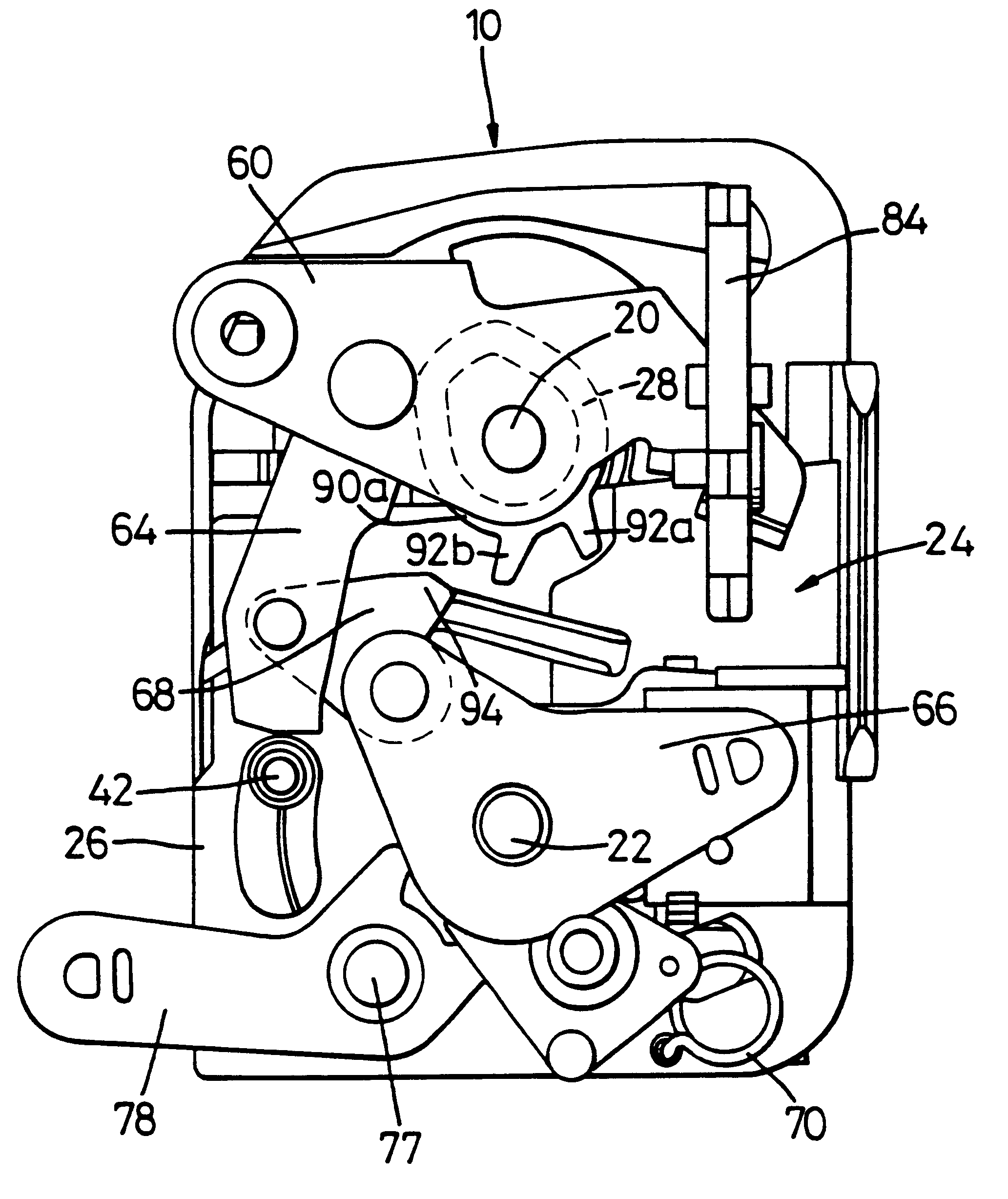 Vehicle Door Latch Assembly
