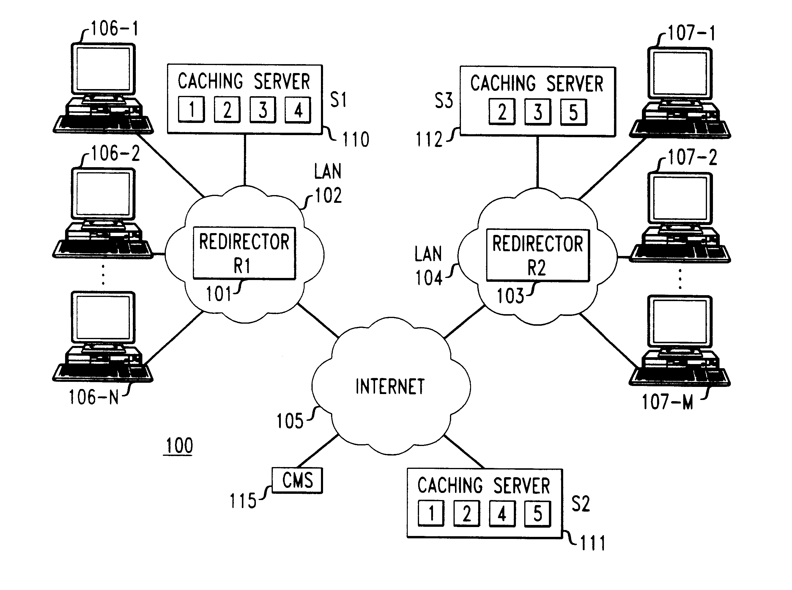 Patent US6314465 - Method and apparatus for load sharing on