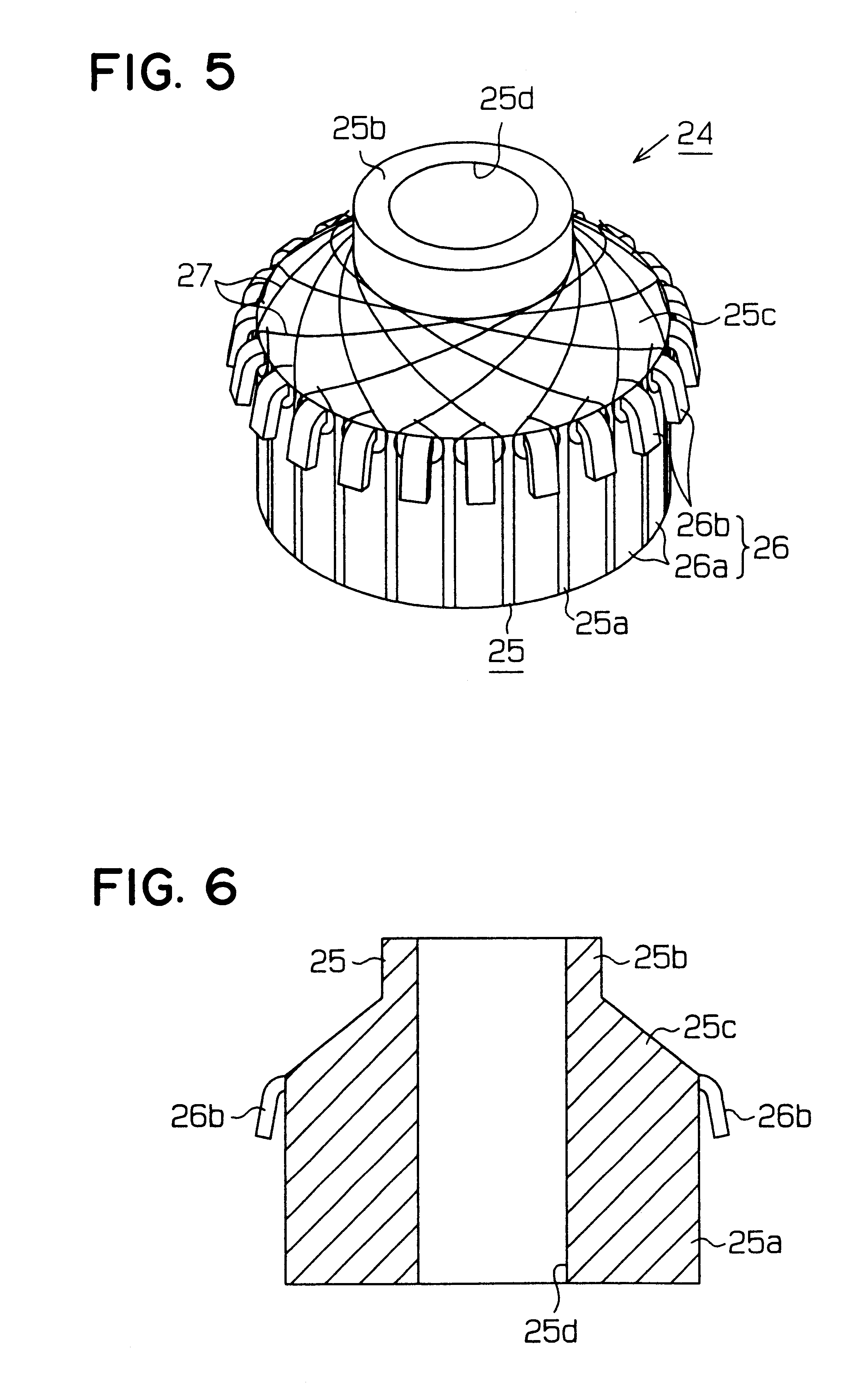 Patent Us6320293 Electric Motor Having Brushes And