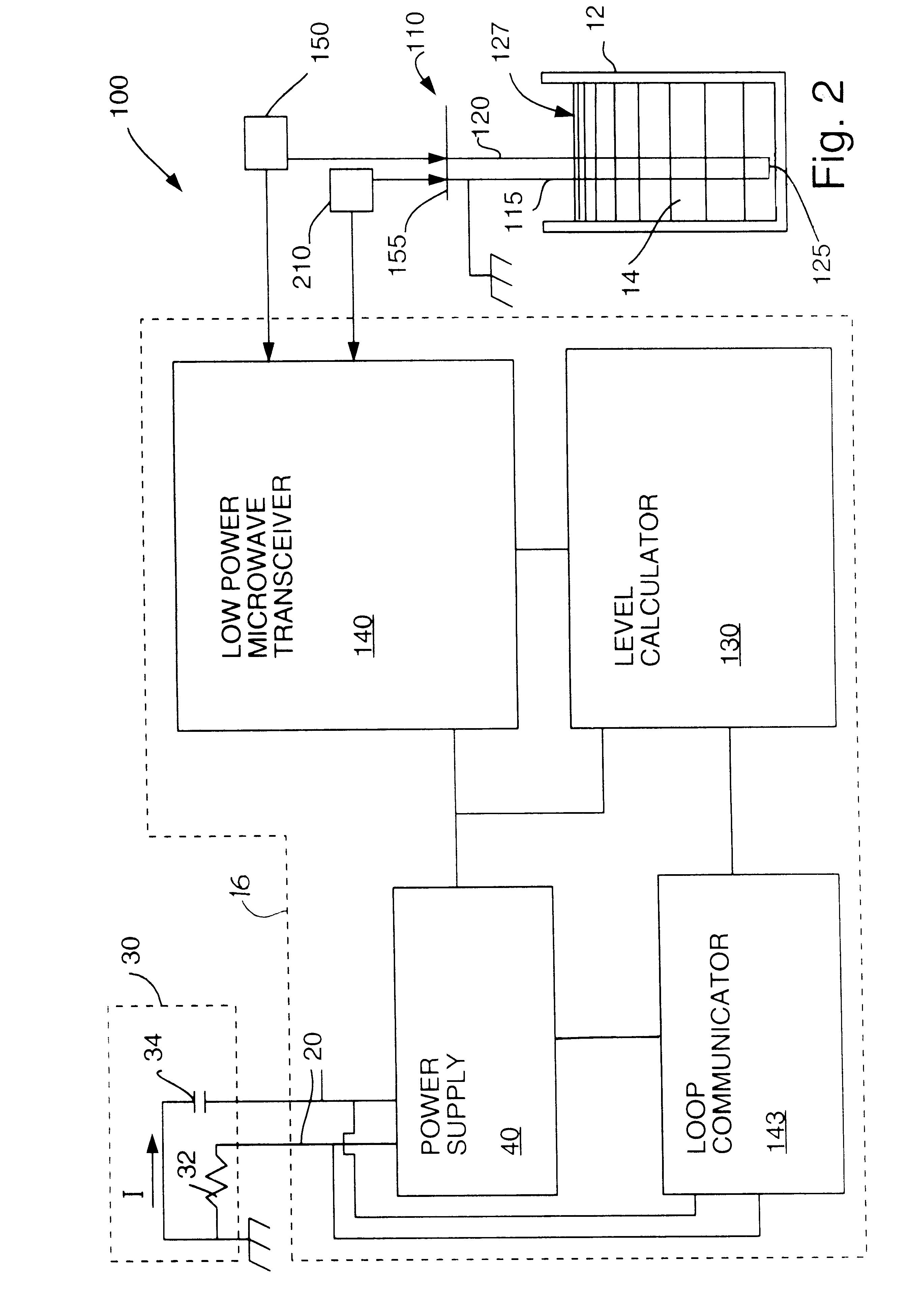Patent US6320532 - Low power radar level transmitter having ... on
