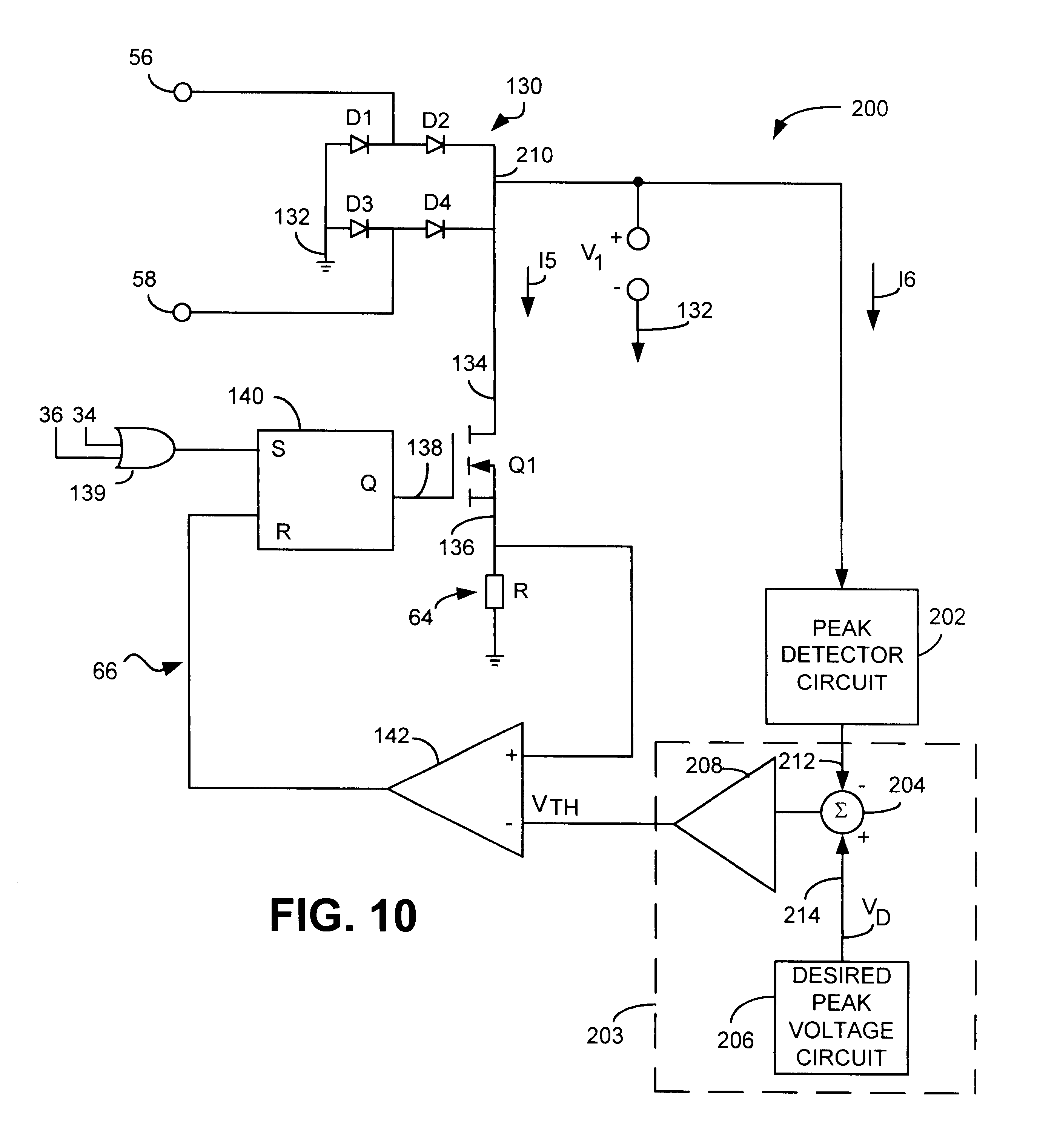 Patente Us6323603 Resonant Flyback Ignitor Circuit For A Gas Of Polarity Switch Controlcircuit Diagram Patent Drawing