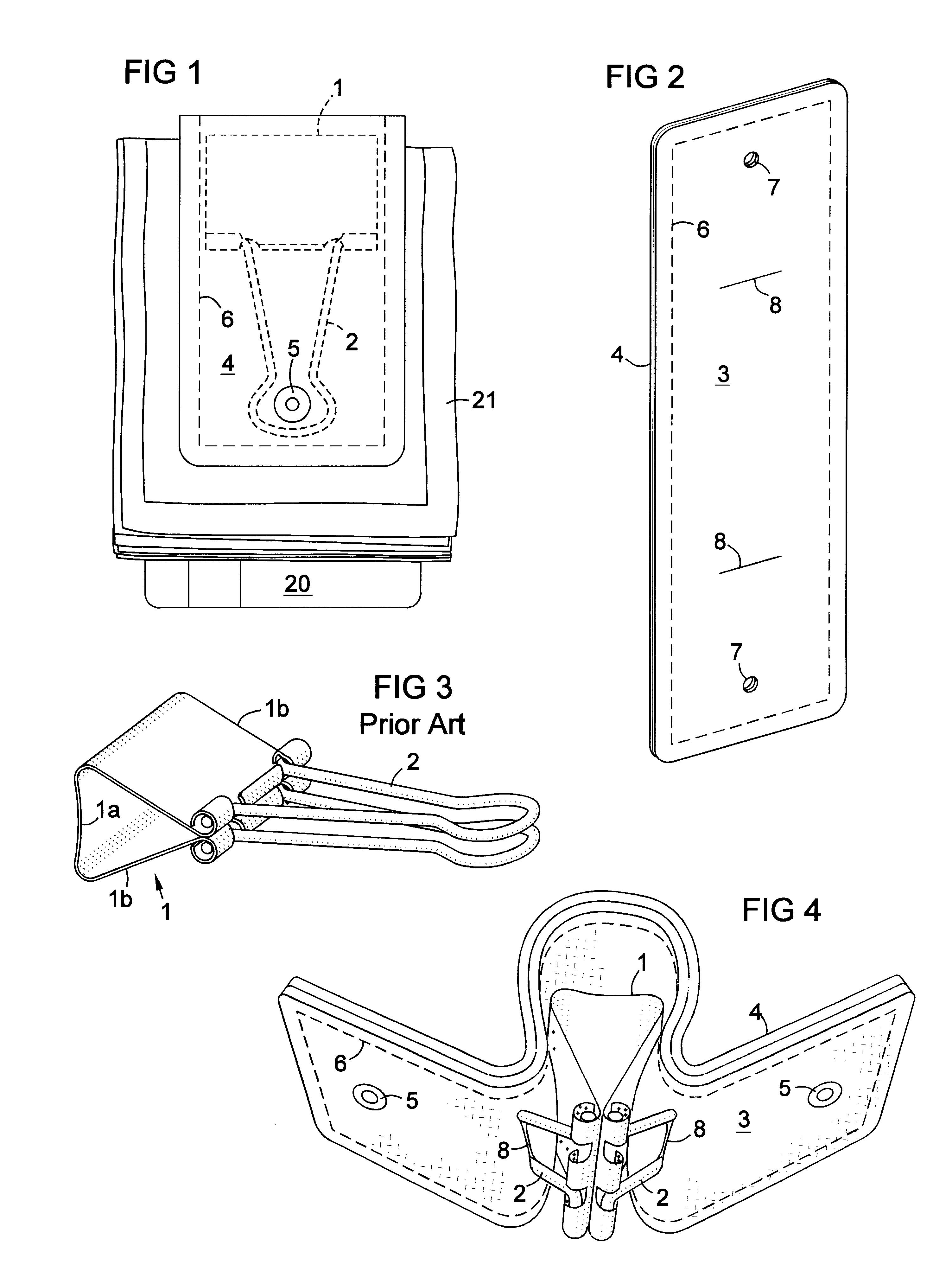 patent us6327749 - money clip