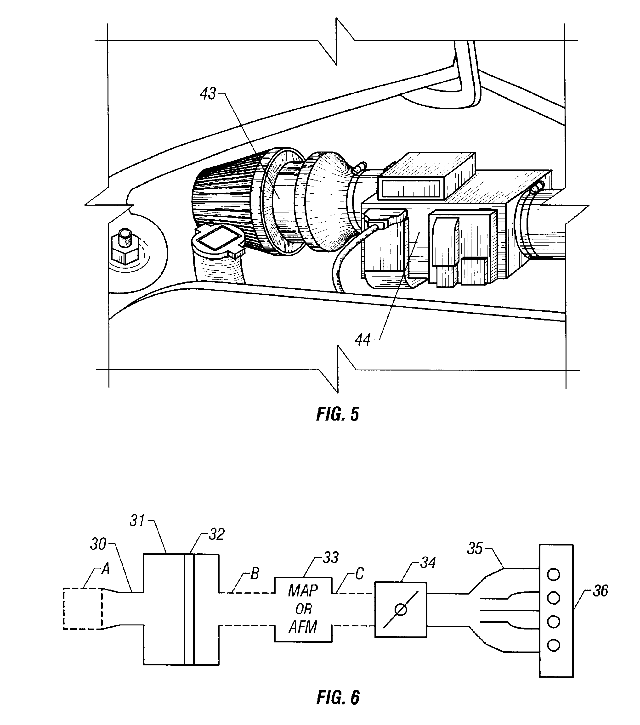 patent us6328024 - axial flow electric supercharger
