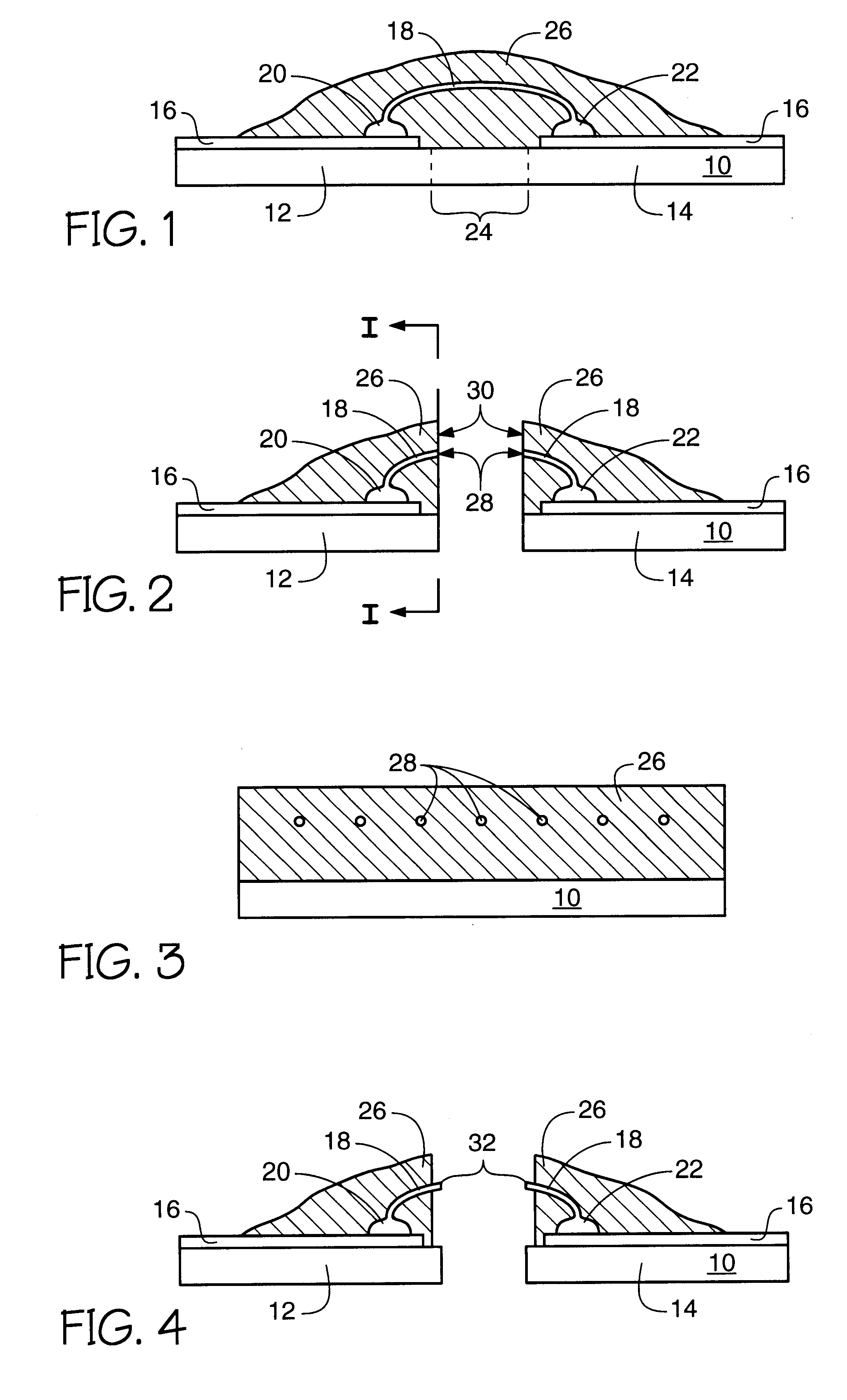 patent us6329709 - interconnections for a semiconductor device