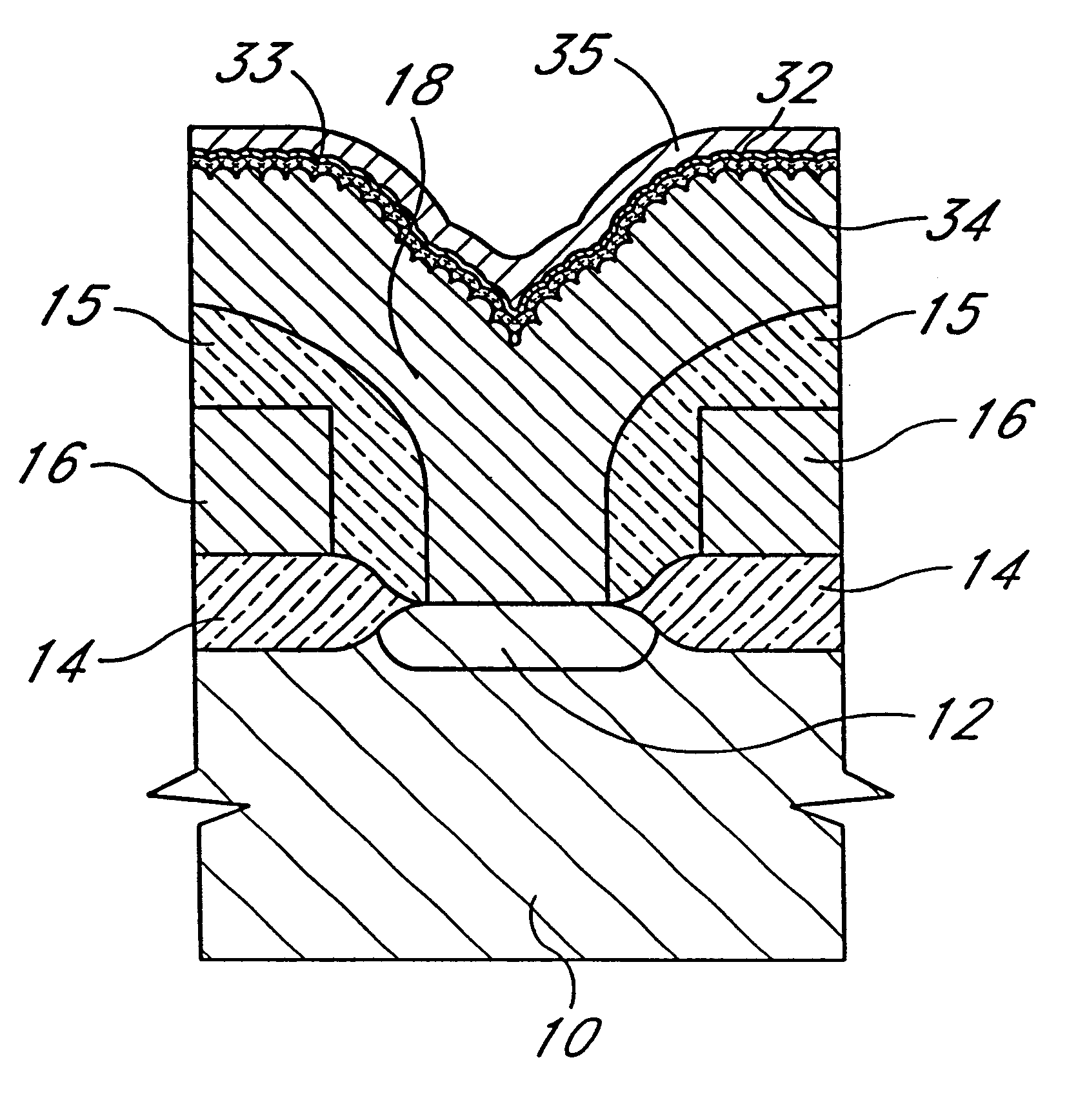 patent us6333536 depletion pensated polysilicon electrodes Oil Electrodes patent drawing