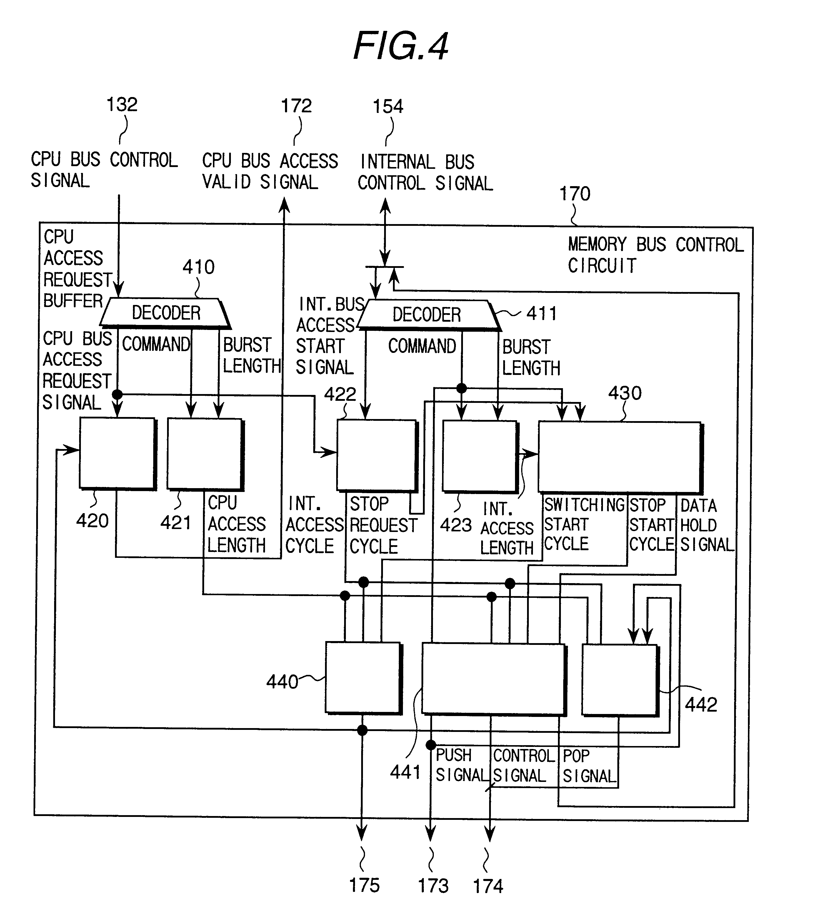 Patent Us6333745 Data Processor Having Unified Memory Architecture Cpu Circuit Diagram Drawing