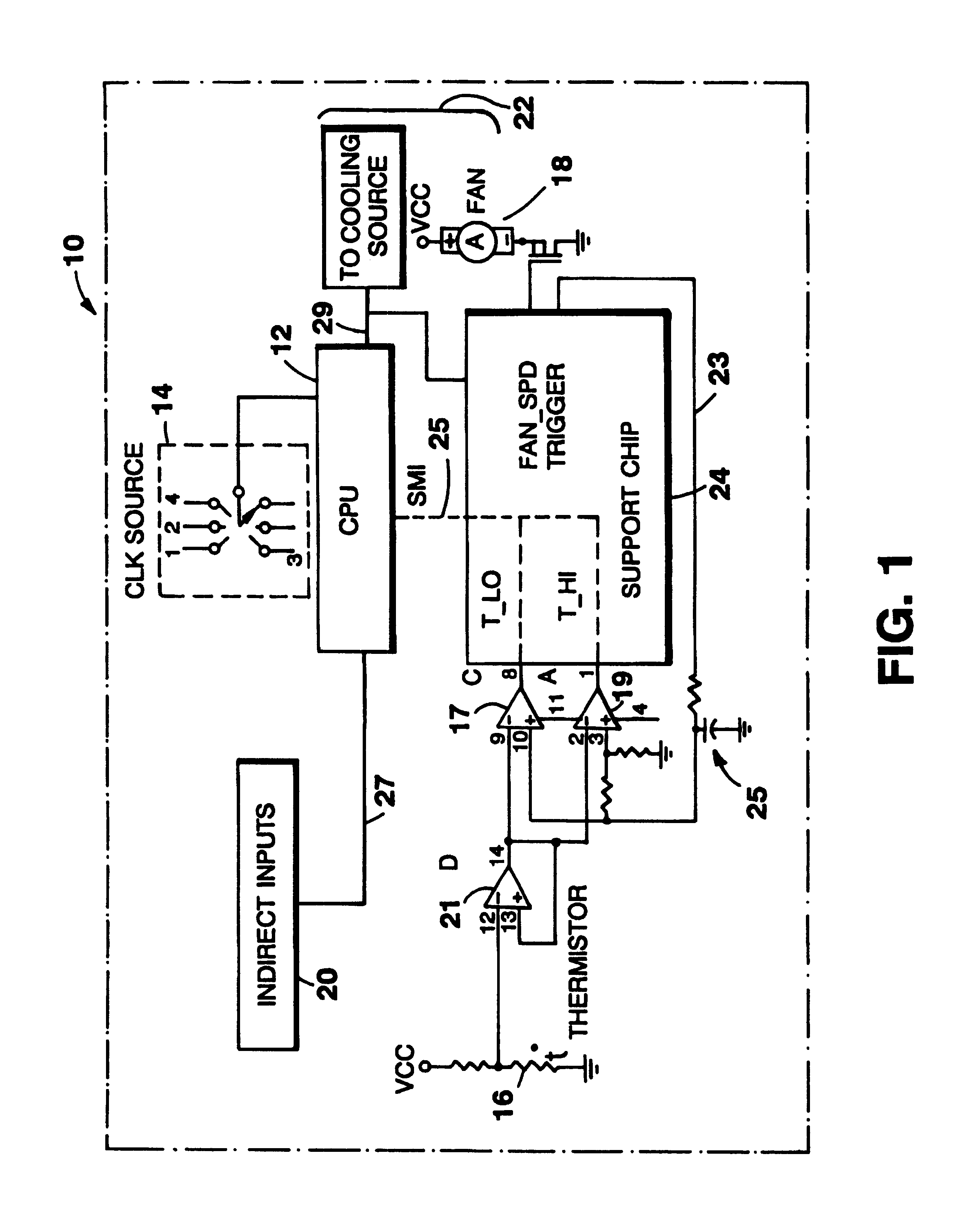 patent us6336080 thermal management of puters patents LED Colors patent drawing