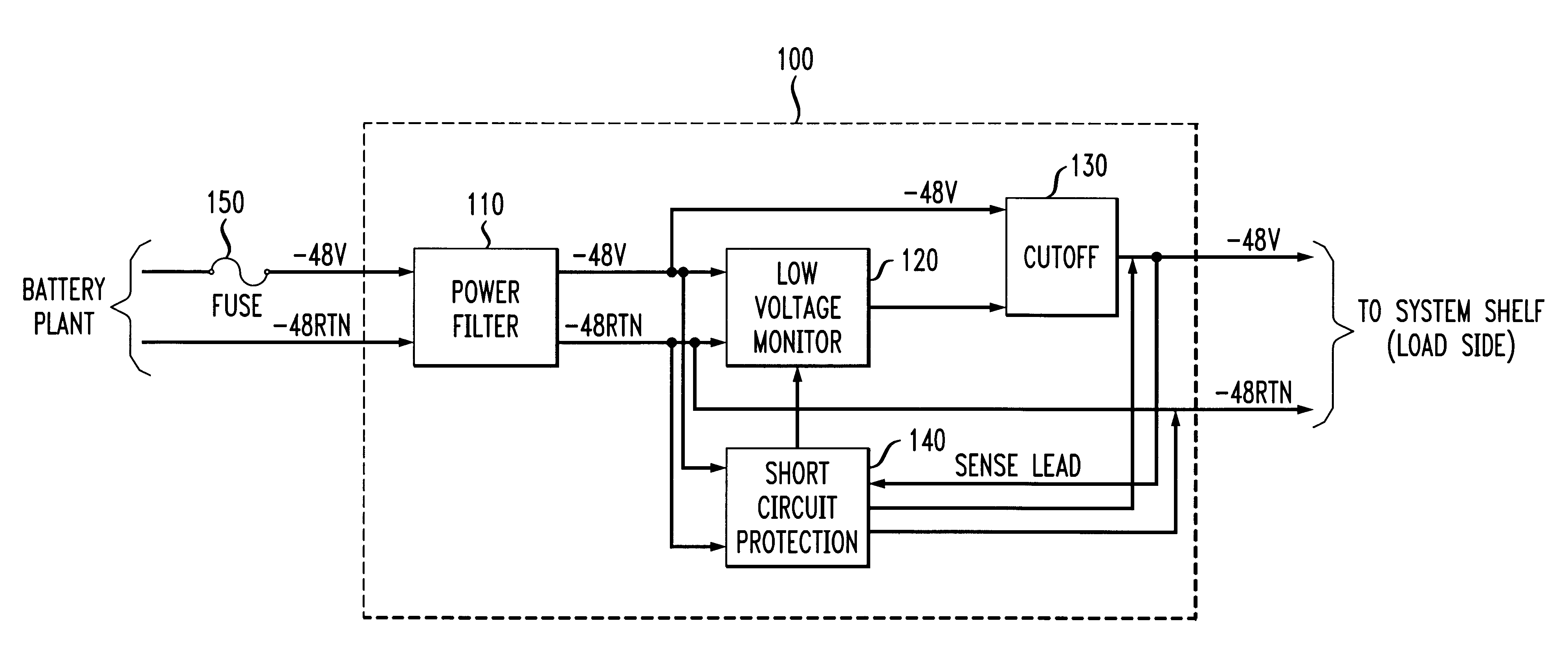 Patent US6339526 - Low voltage cutoff circuit with short