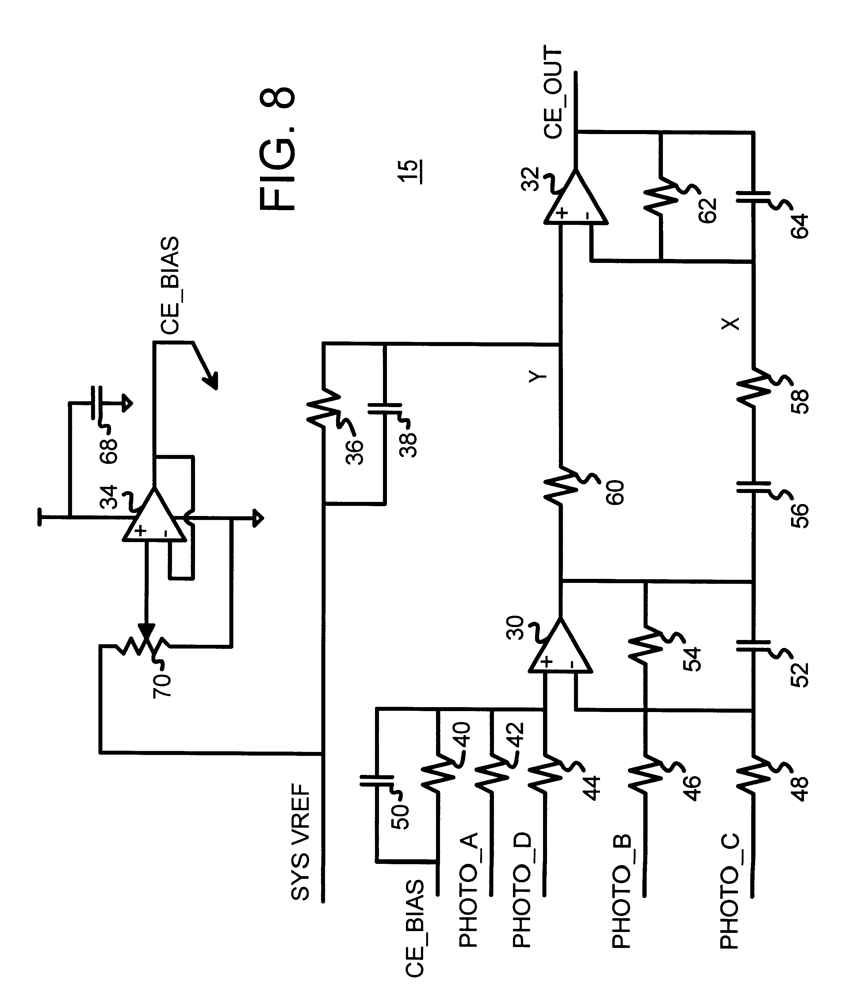 Patent Us6339565 Non Linear Center Error Generator For Dvd Servo Circuit Diagram Control Drawing