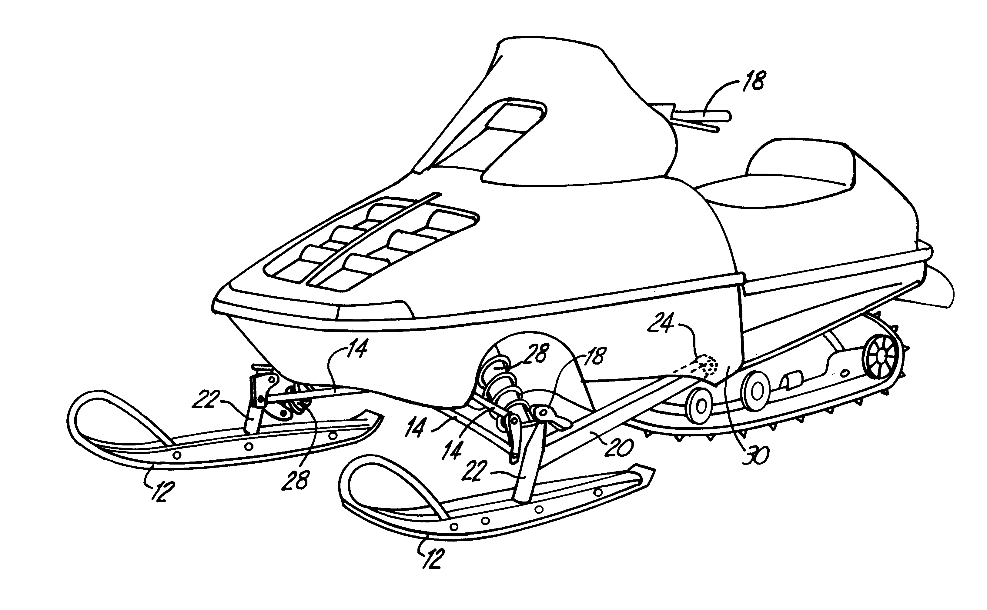 snowmobile coloring pages - photo#20