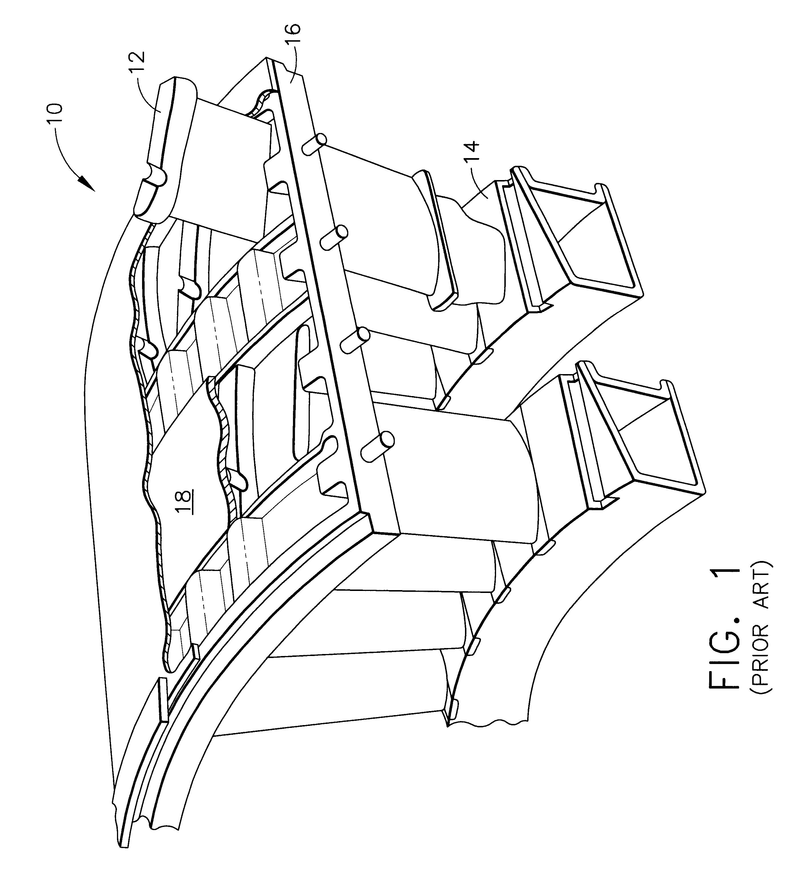 patent us6343912 - gas turbine or jet engine stator vane frame