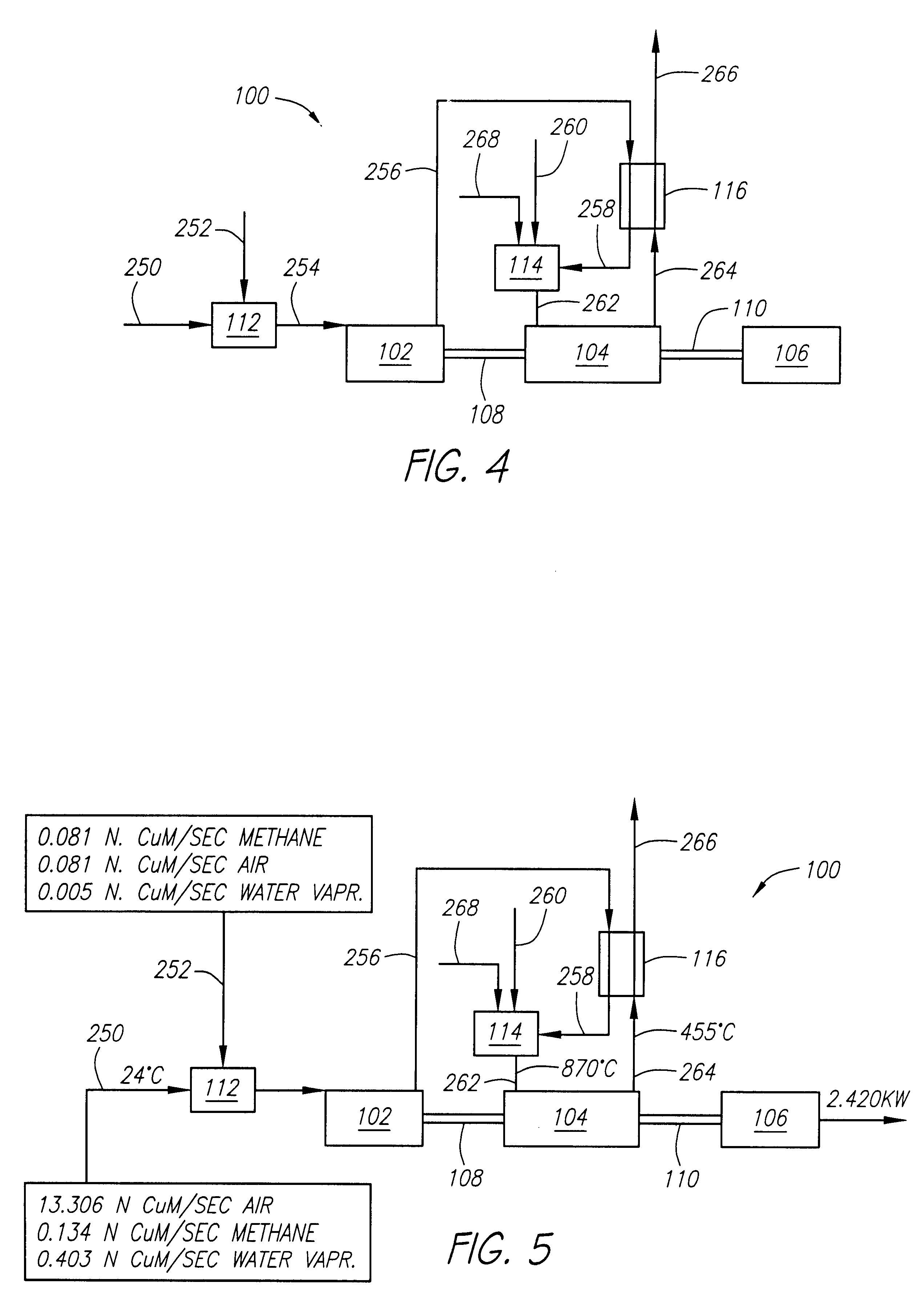 Patent US Gas turbine system for flameless bustion of