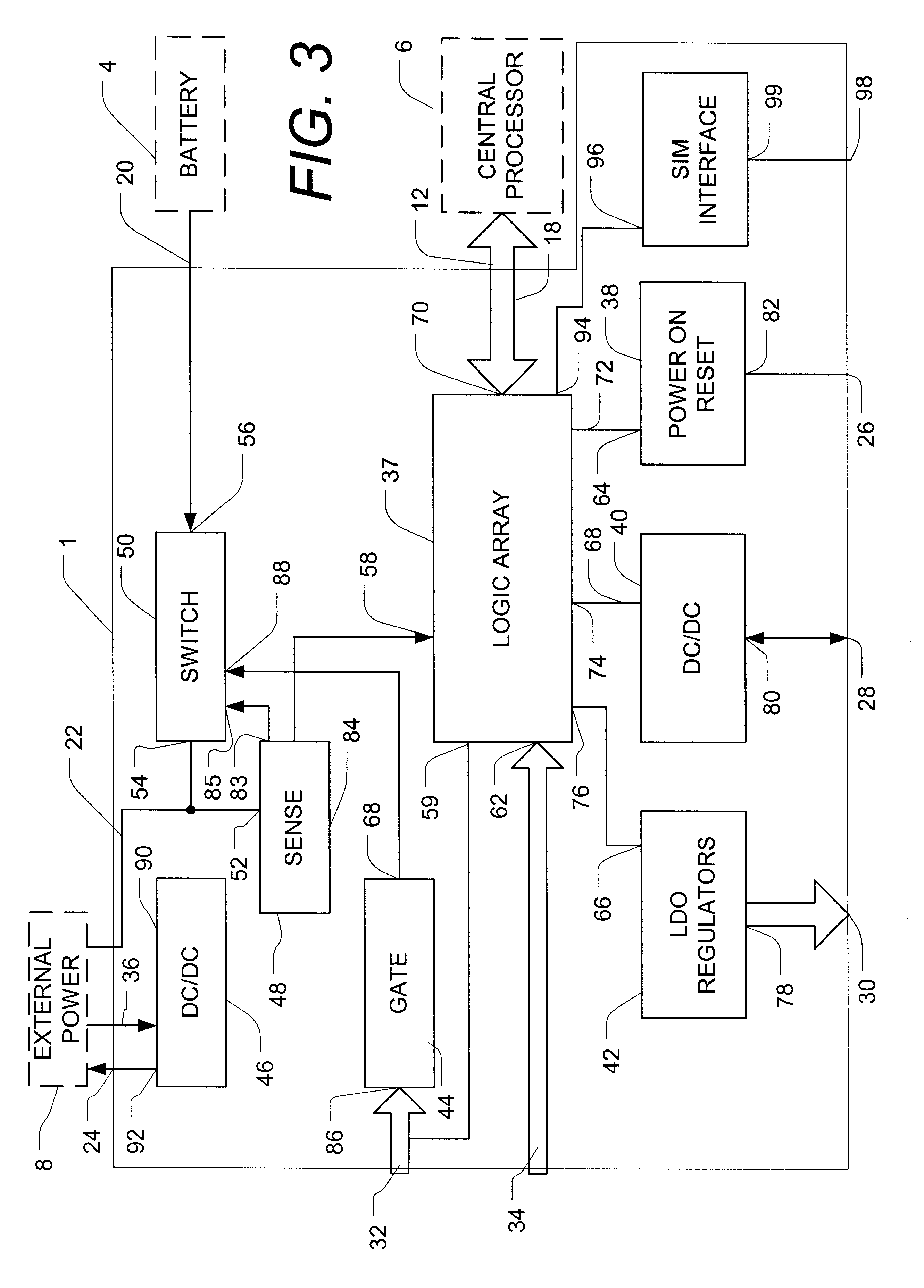 patent us6348744 - integrated power management module