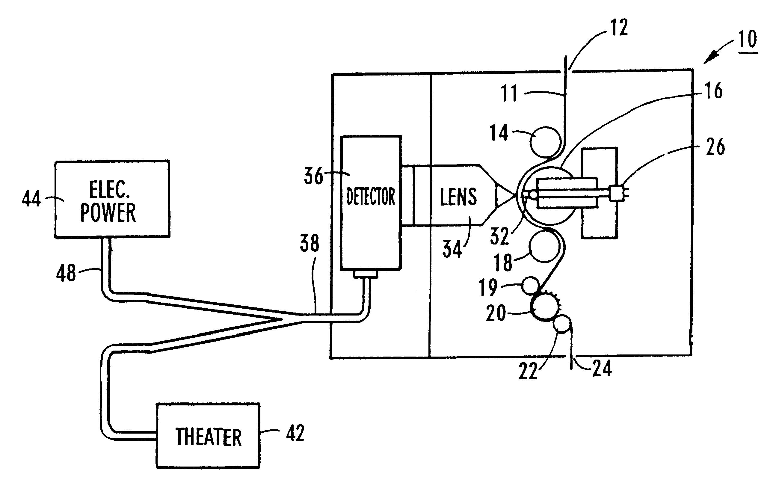 patent us6351302 - analog sound track digitizer
