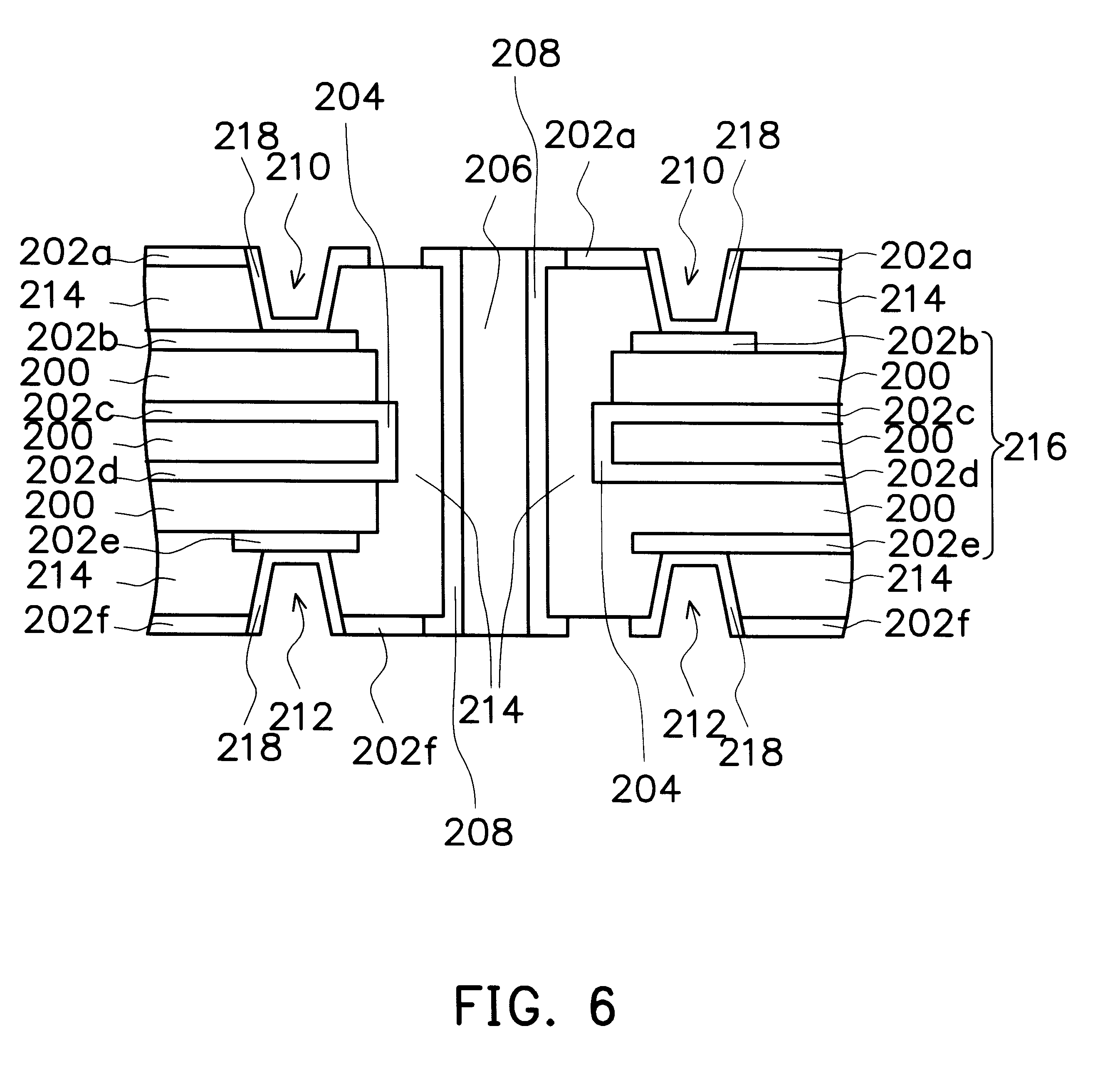 patent us6353999 - method of making mechanical-laser structure