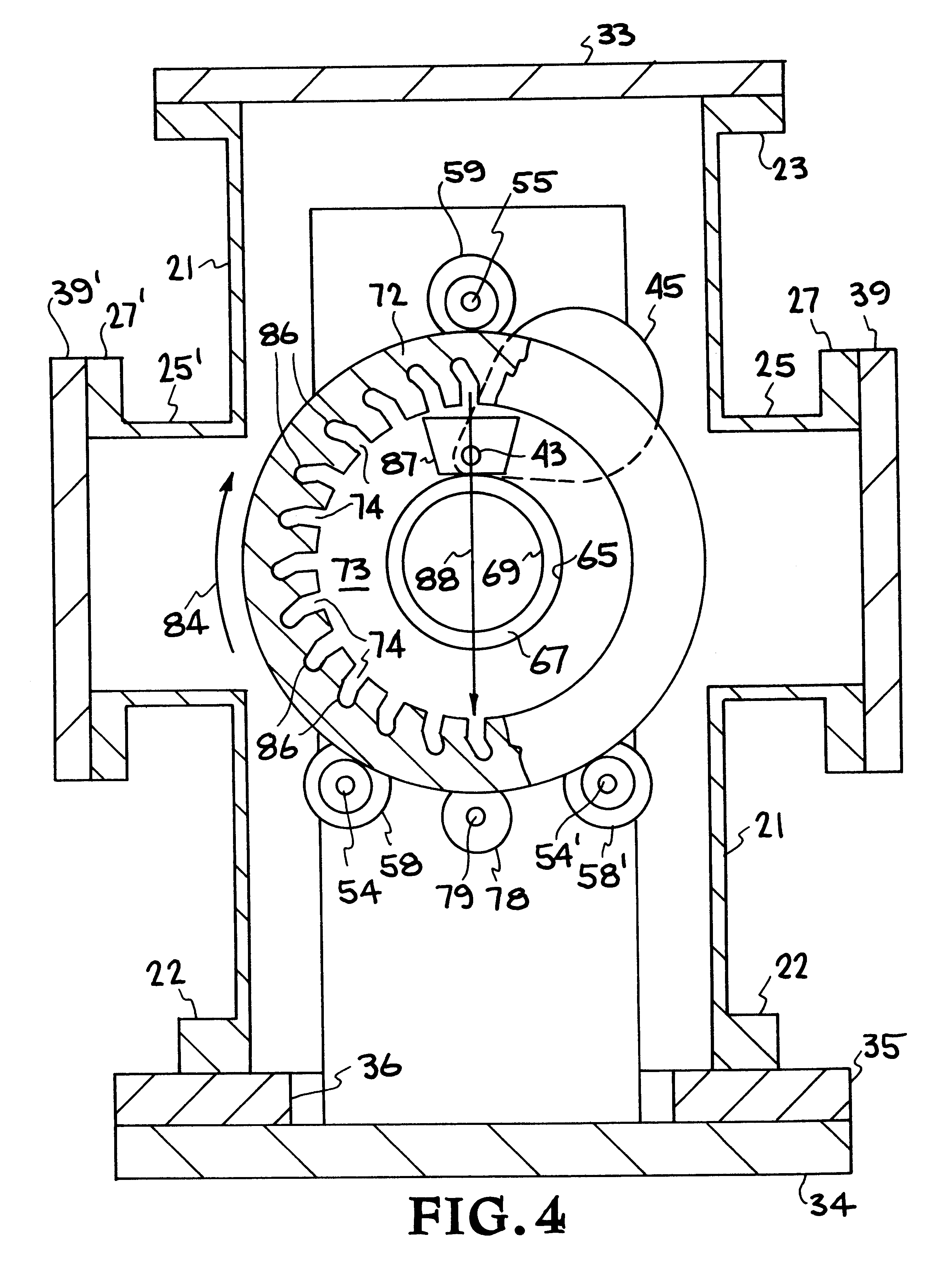 patent us6355146 sputtering process and apparatus for coating 36 Inch Gas Range patent drawing