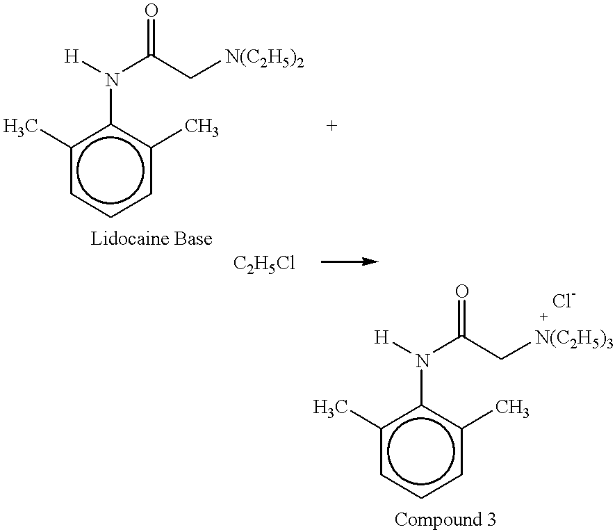 lidocaine synthesis 1 experiment: (part b) preparation of lidocaine from α-chloro-2,6-dimethylacetanilide and diethylamine introduction this step of the synthesis involves the reaction of α-chloro-2, 6.