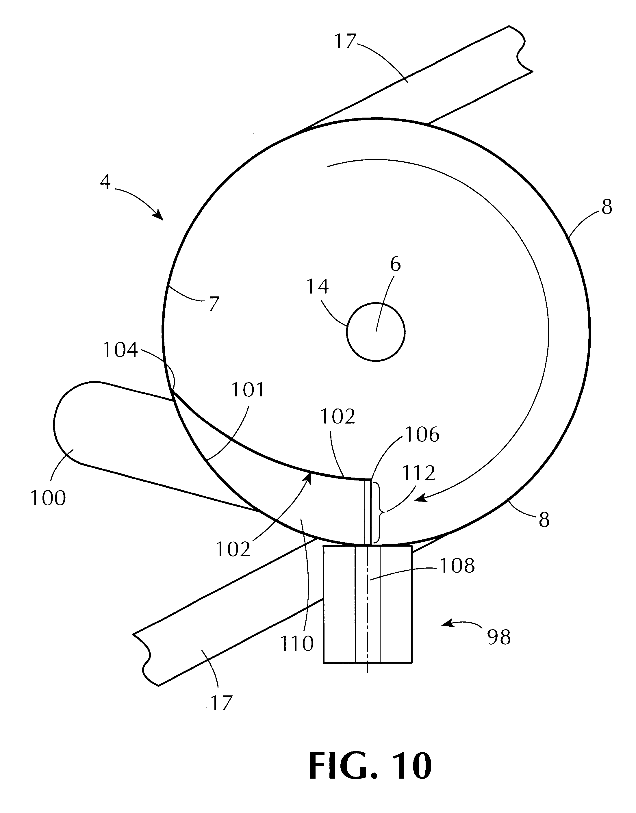 patent us6364948 coating and drying apparatus mm in Pixels patent drawing