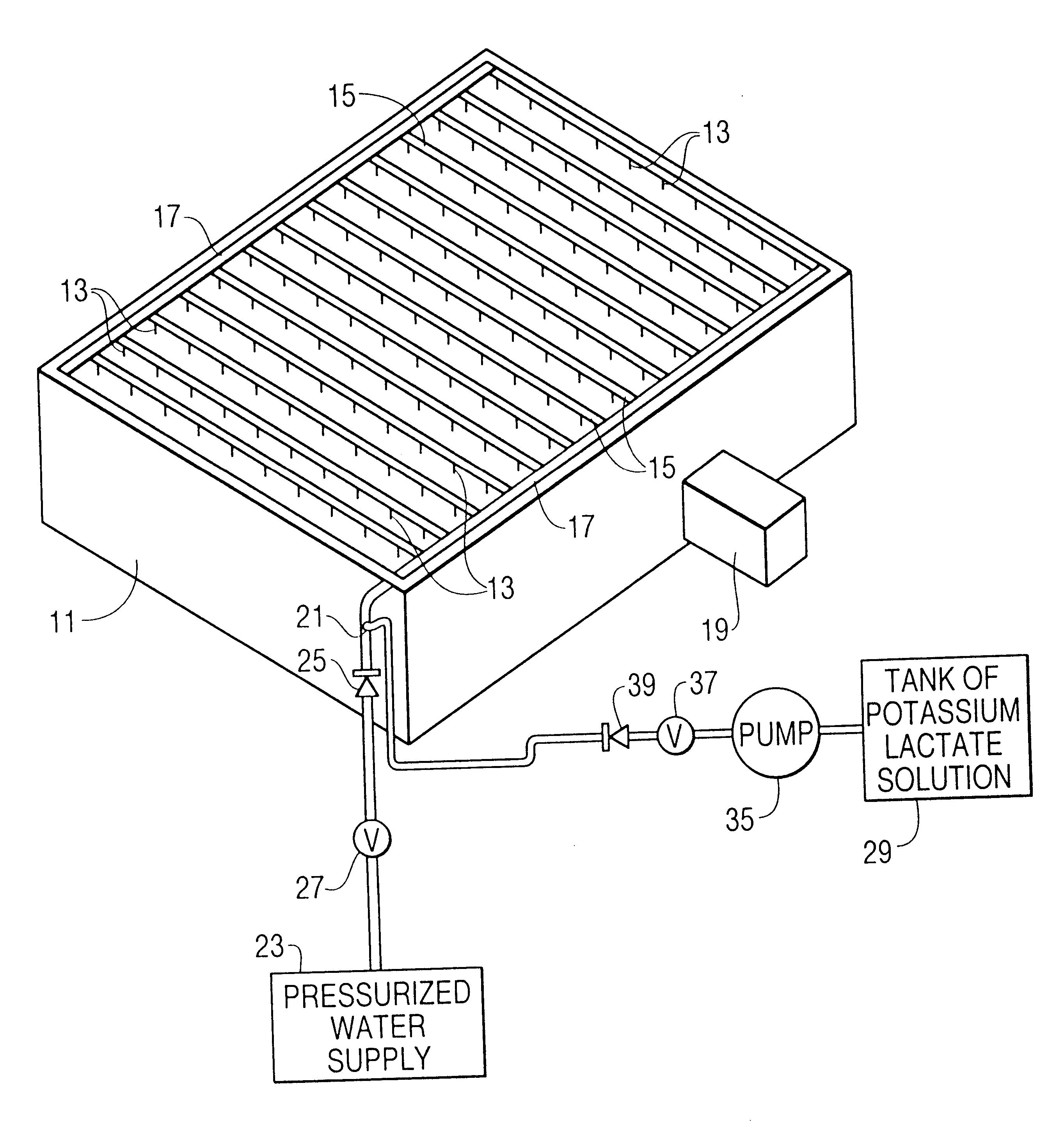 us6367560 wet sprinkler system for cold Standpipe System Design patent drawing