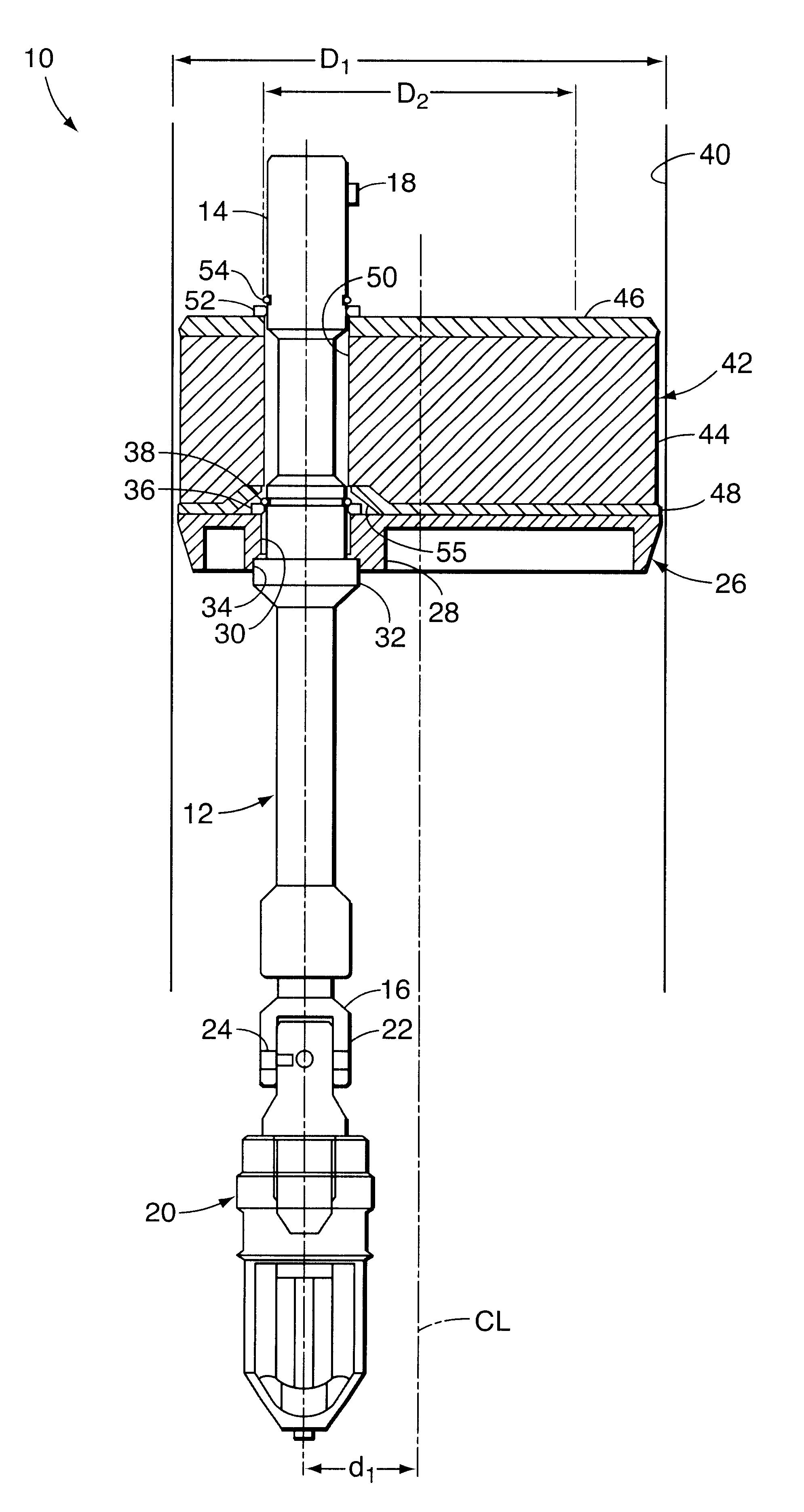 Patent US6374914 - Duel completion bop centralizer - Google Patents