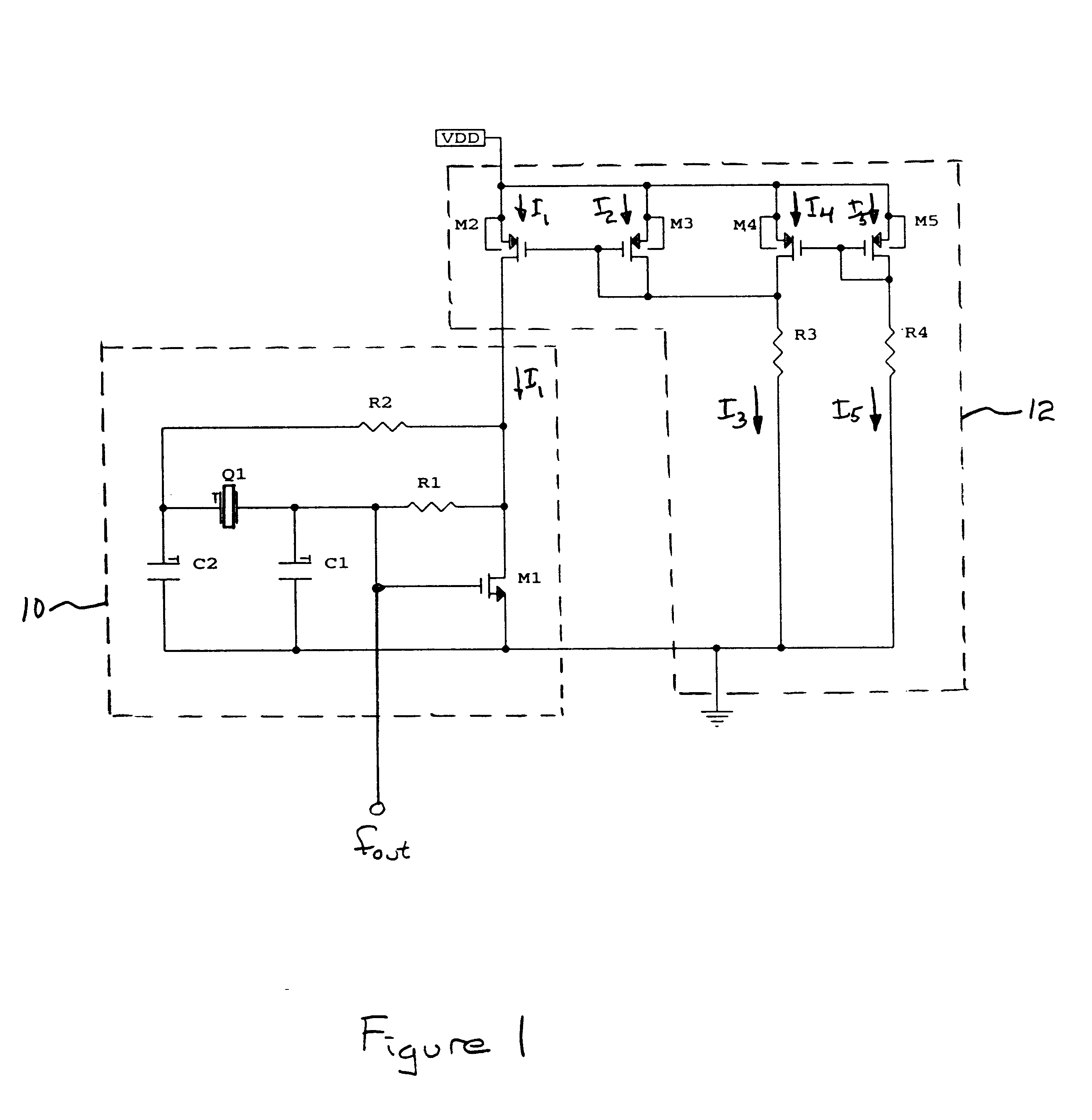 Cmos Oscillator Related Keywords Suggestions Crystal Signalprocessing Circuit Diagram Seekiccom Patent Us6377130 Temperature Stabilized