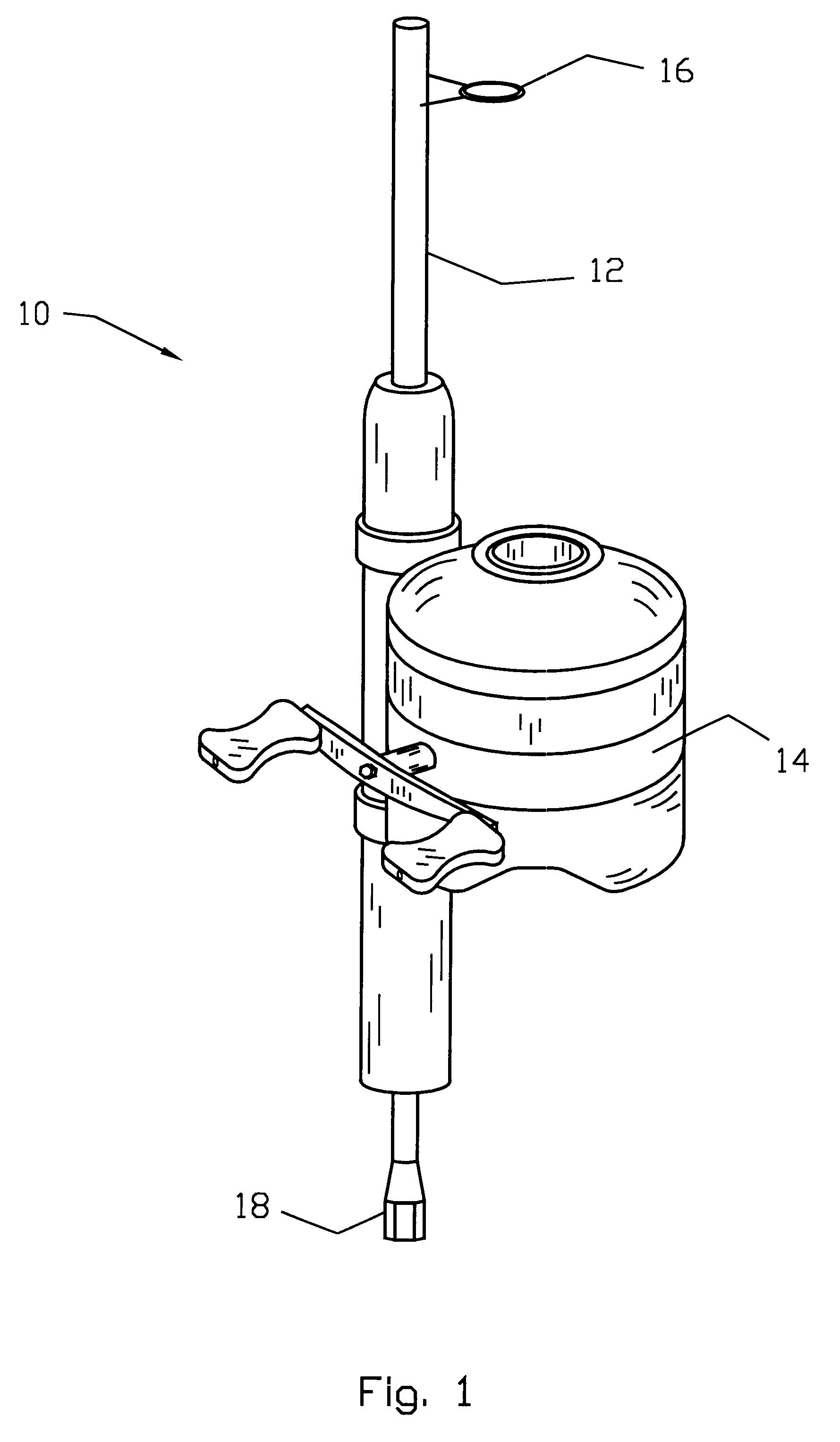 Patent Us6378239 Fishing Pole Antenna Google Patents
