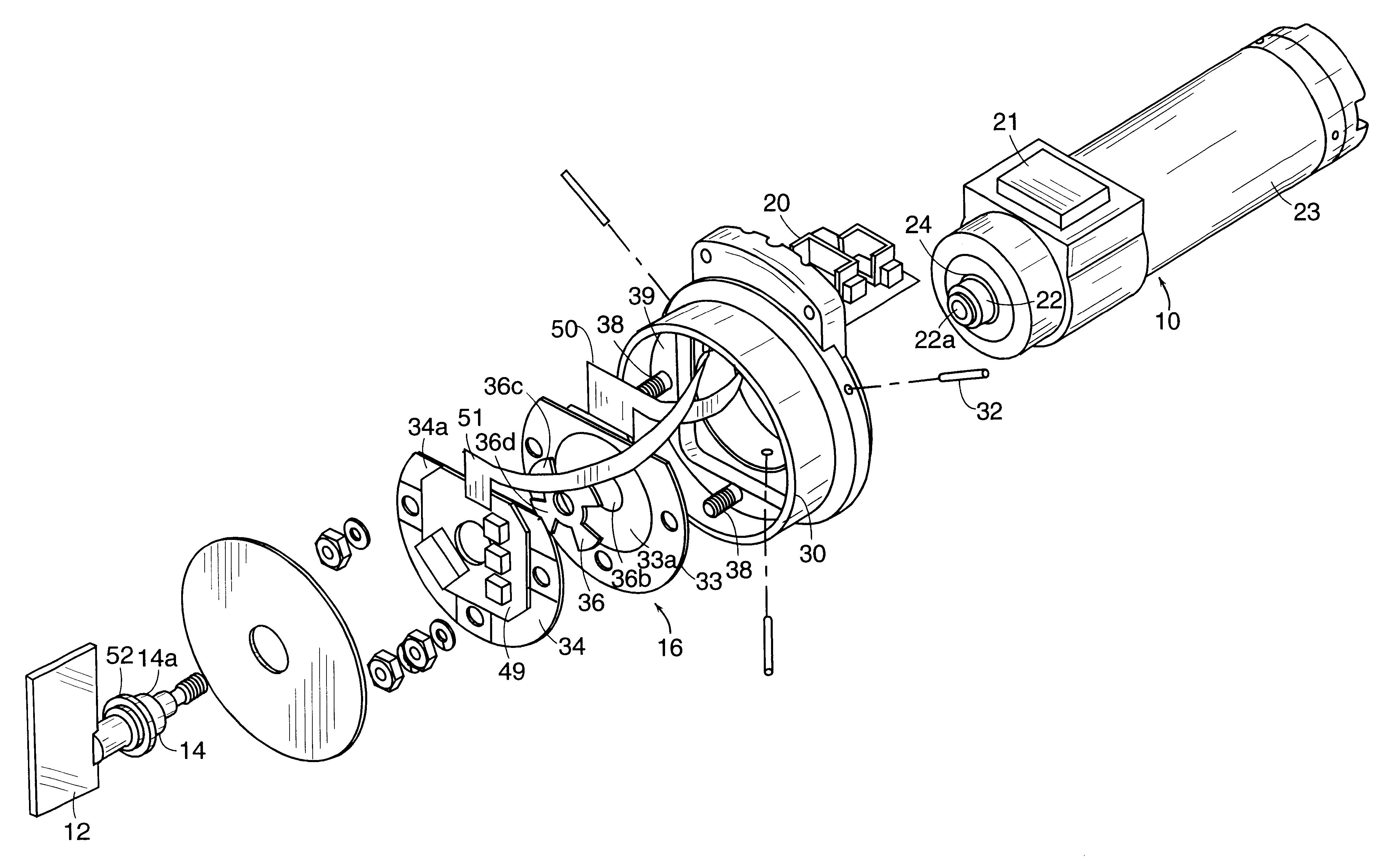 Patent Us6380649 Galvanometer Unit Google Patents